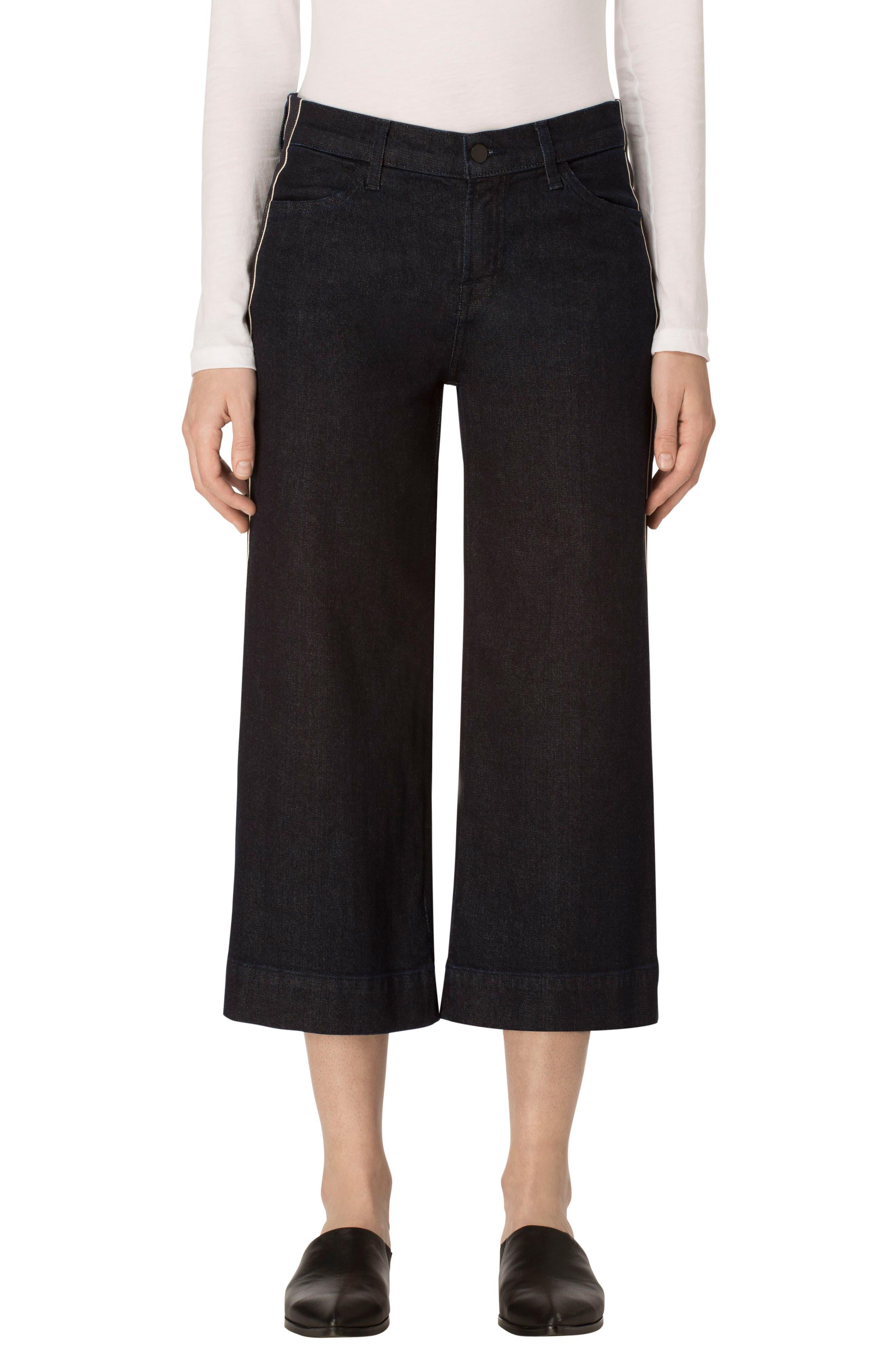 Main Image - J Brand Liza Flare Leg Culottes