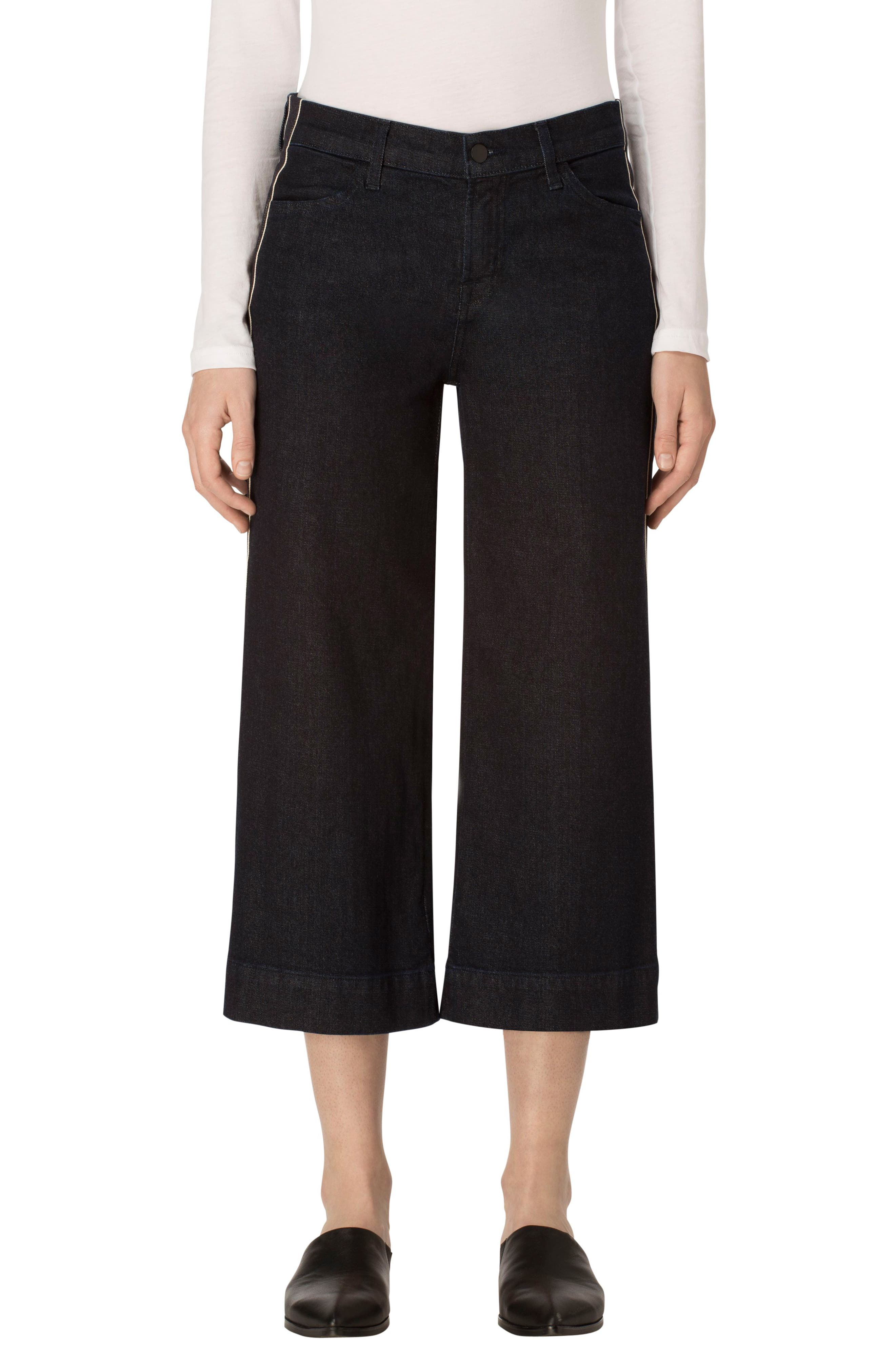Liza Flare Leg Culottes,                         Main,                         color, Border