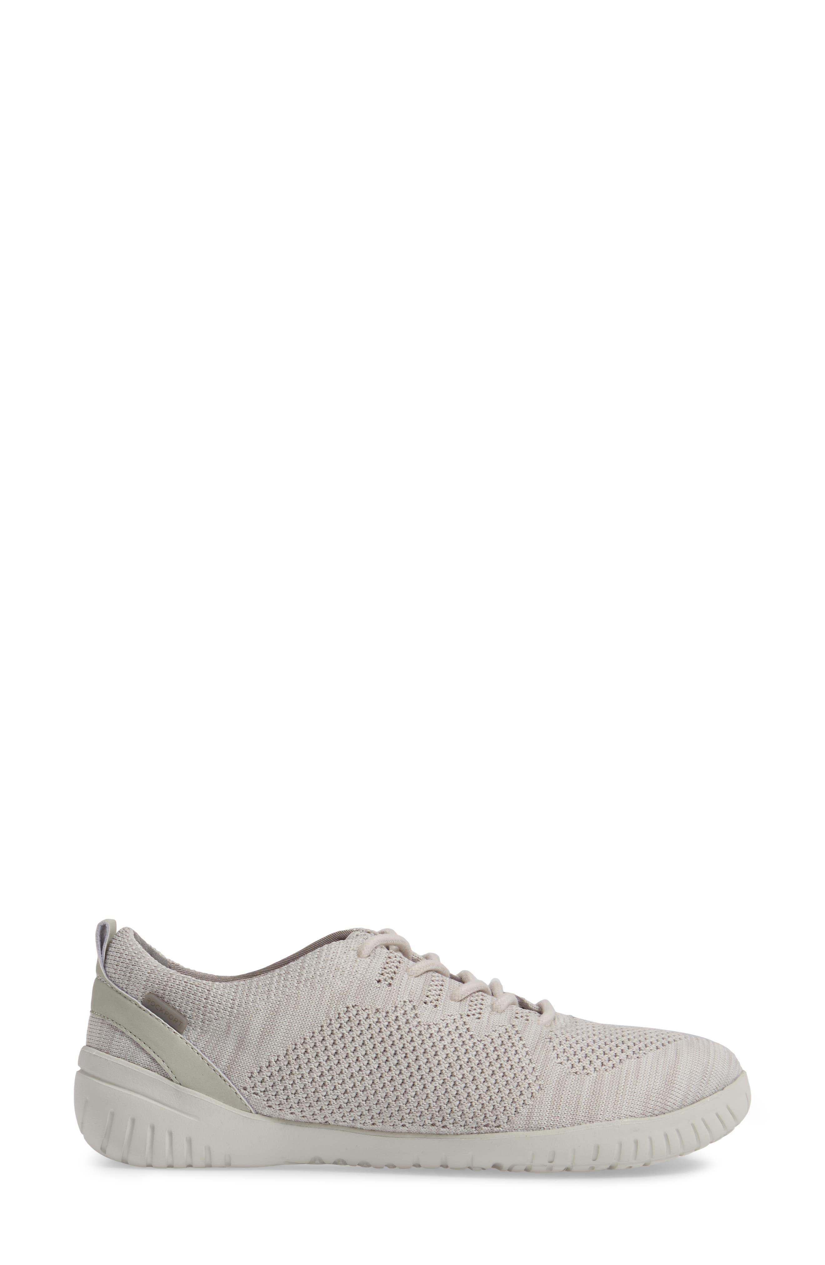 Raelyn Knit Sneaker,                             Alternate thumbnail 3, color,                             Cloud Fabric
