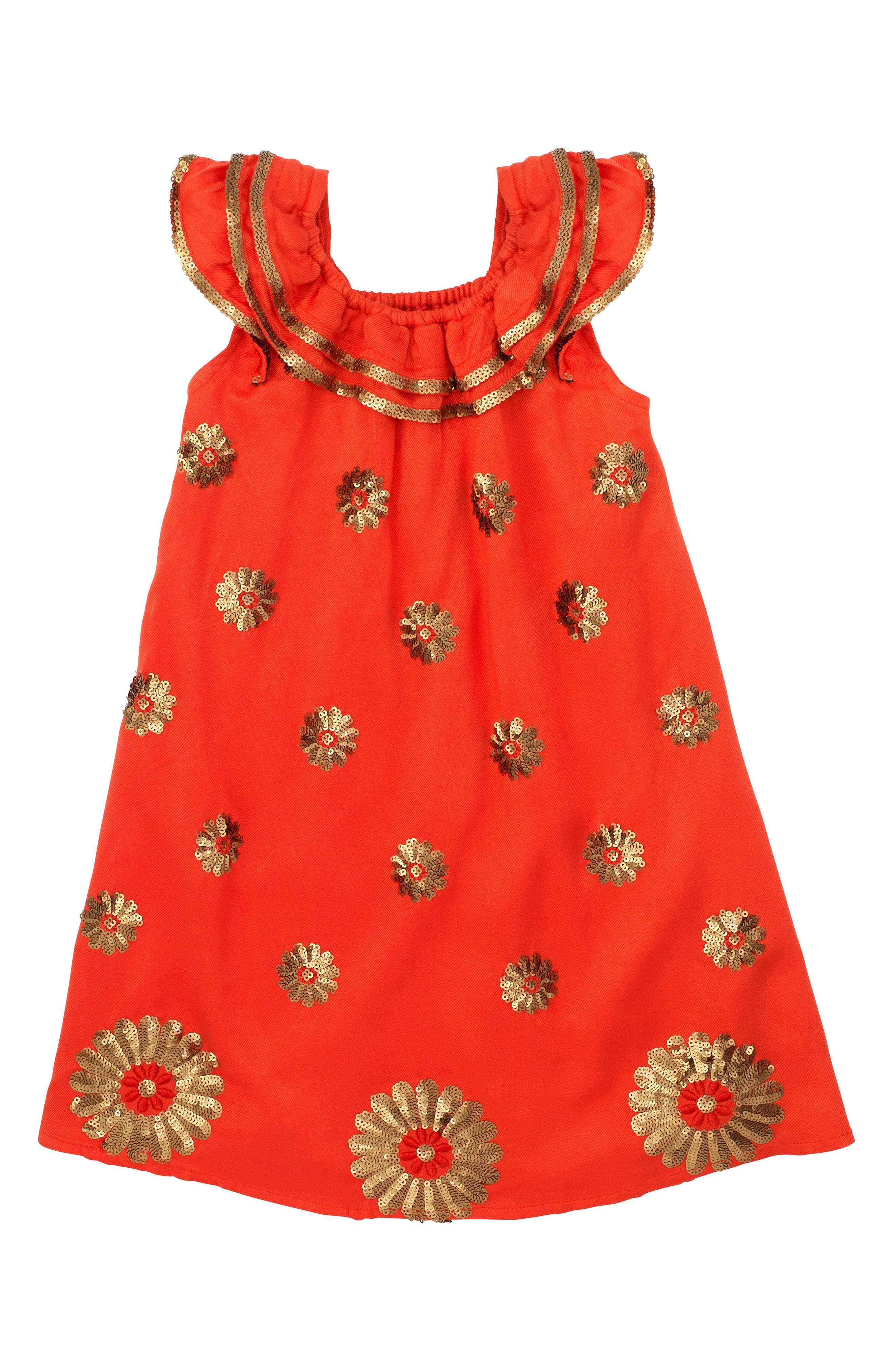 Masalababy Dahlia Flutter Sleeve Dress (Toddler Girls, Little Girls & Big Girls)