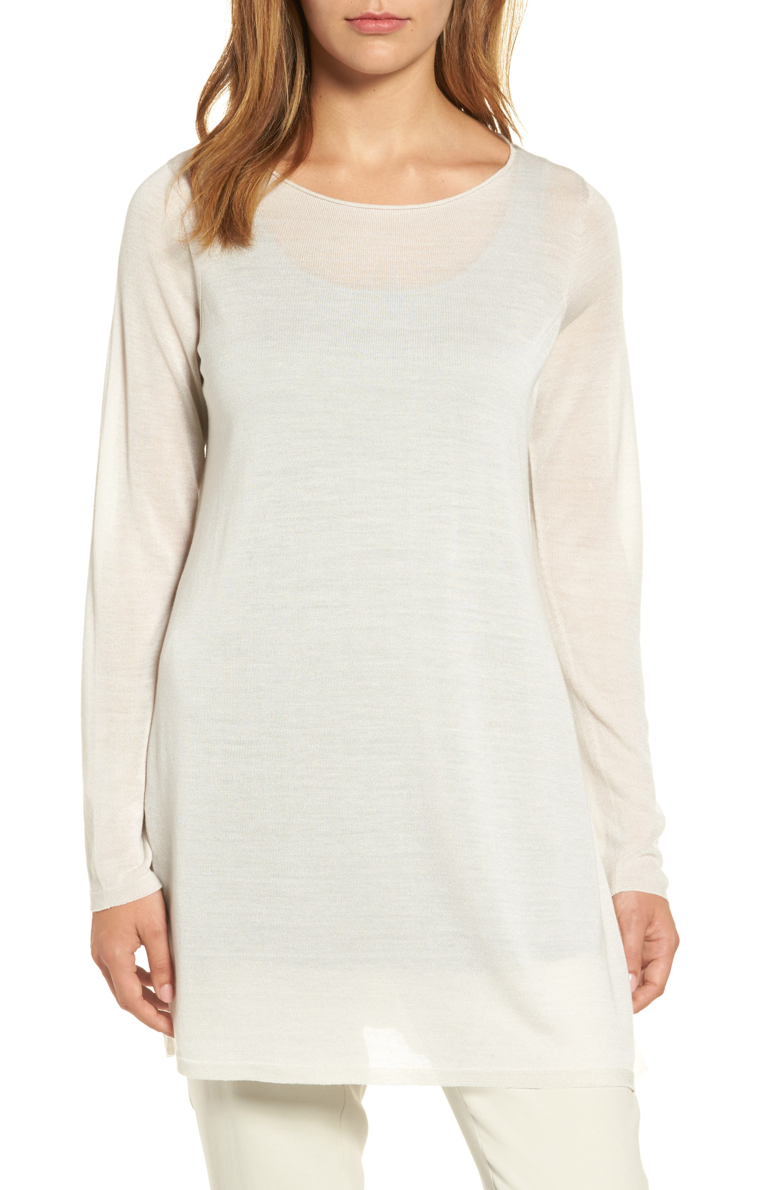 Eileen Fisher Side Slit Tencel® Tunic