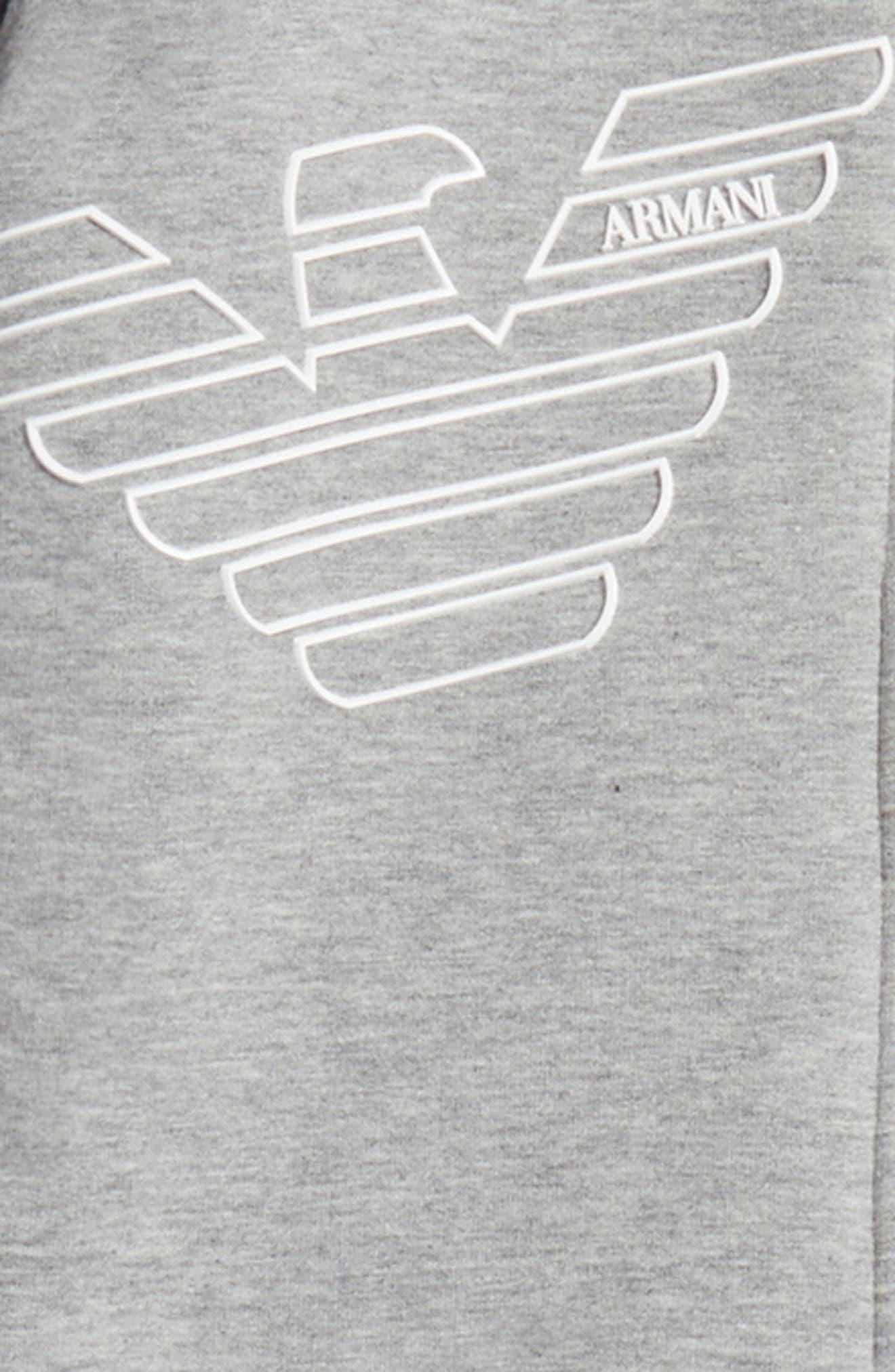 Hooded Jacket & Sweatpants Set,                             Alternate thumbnail 2, color,                             Grey