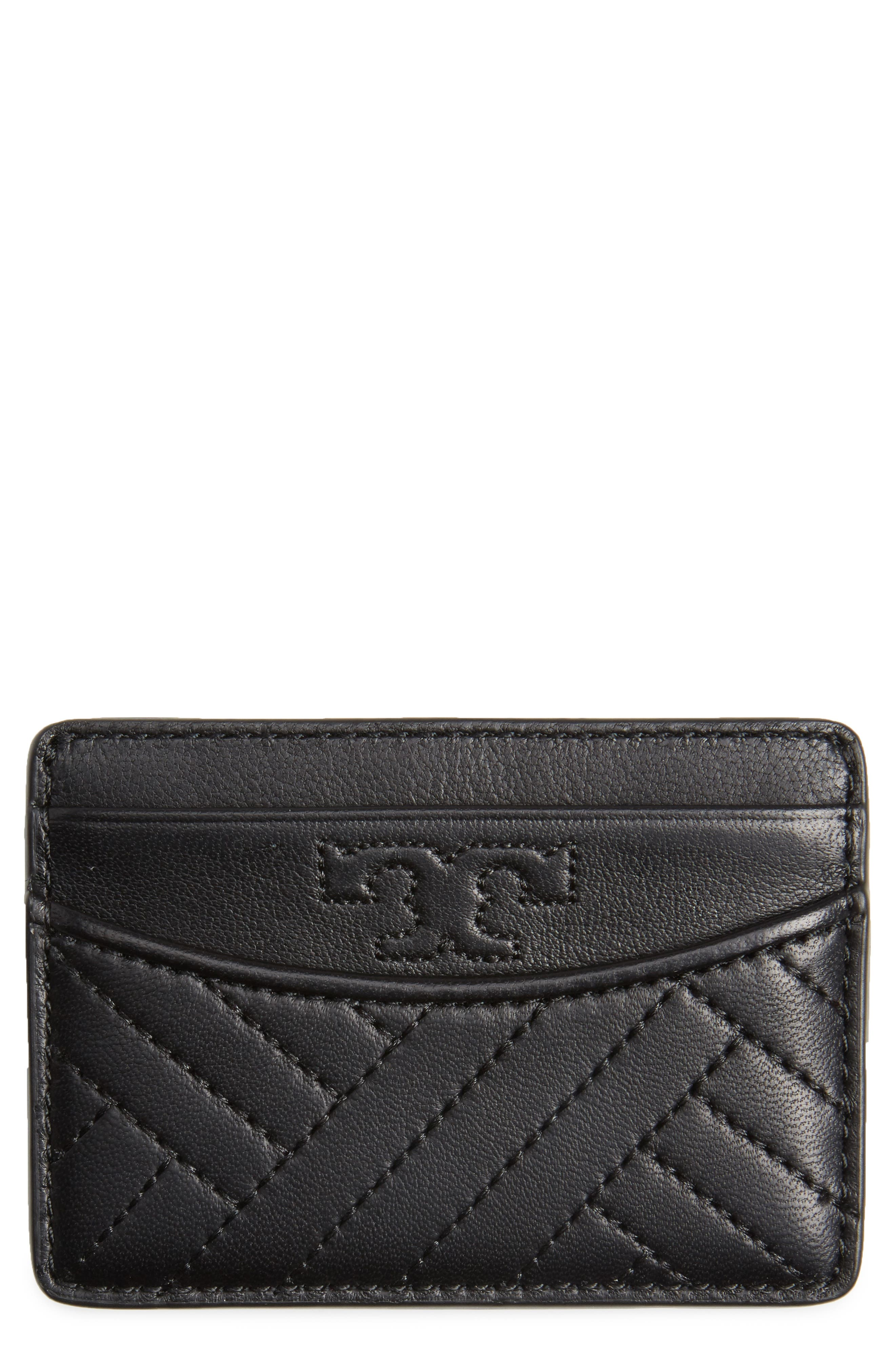 TORY BURCH Alexa Slim Leather Card Case