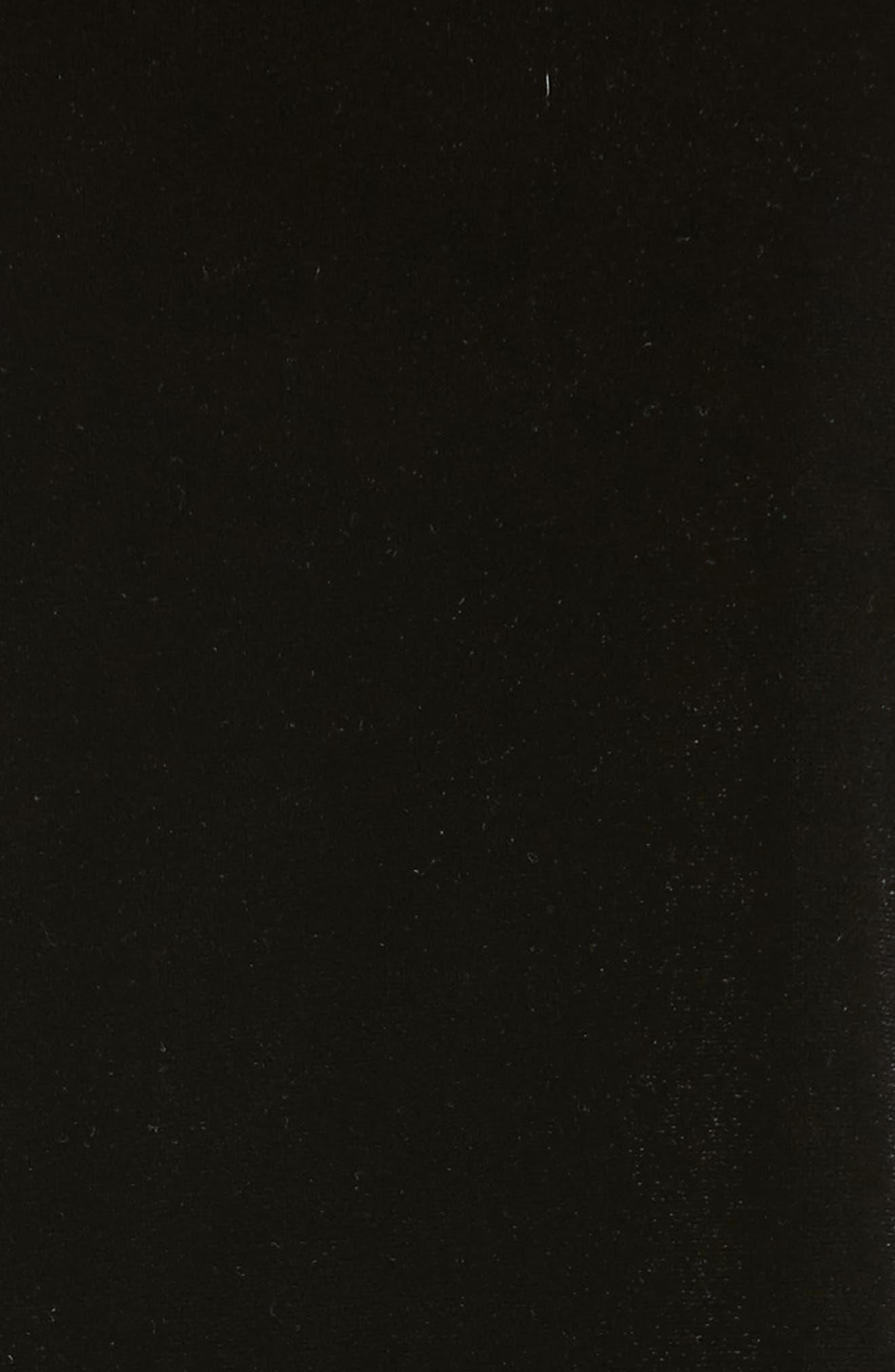 Alternate Image 3  - Armani Collezioni Satin Trim Stretch Velvet Top