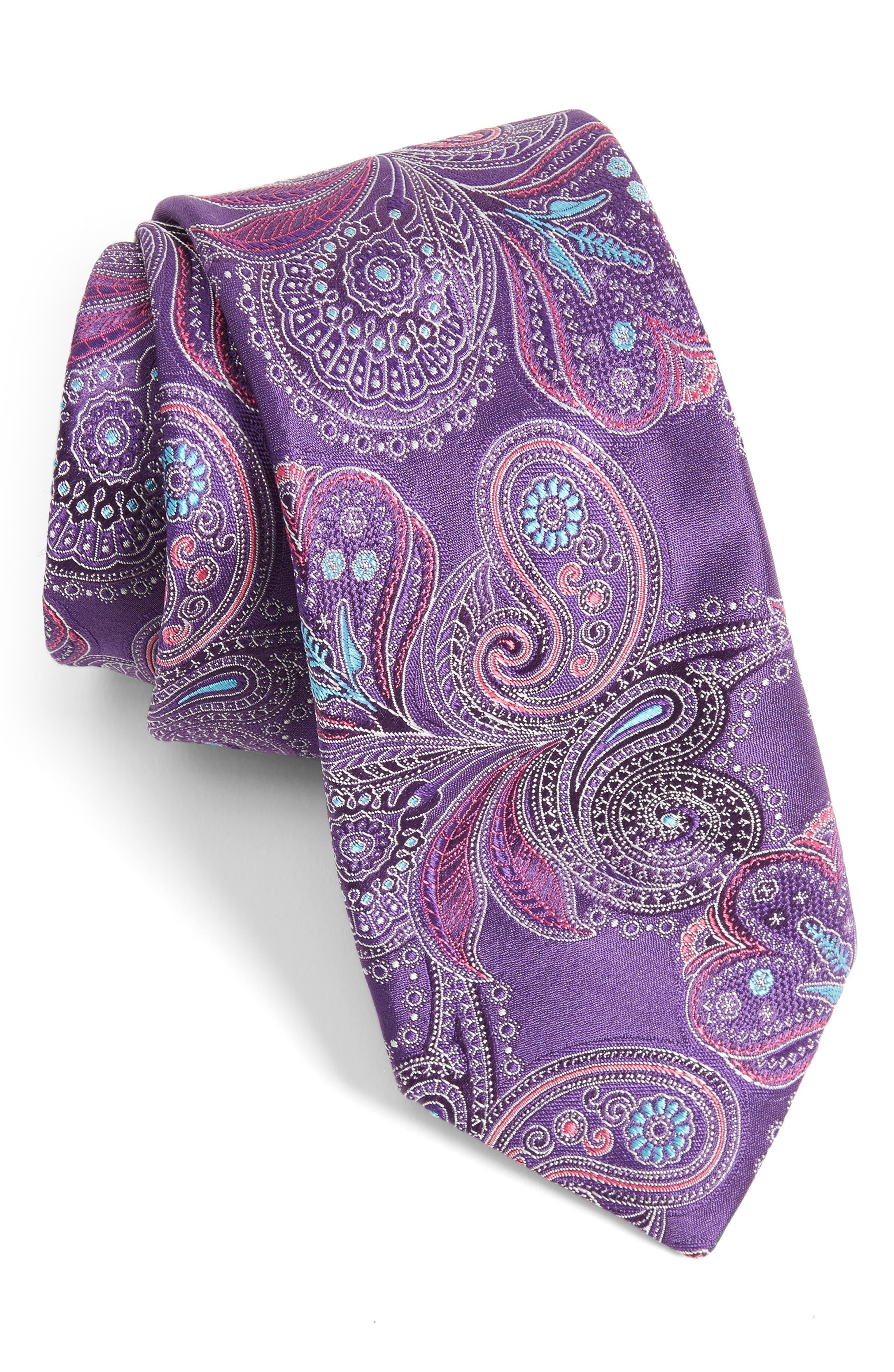 Main Image - Ted Baker London Paisley Silk Tie