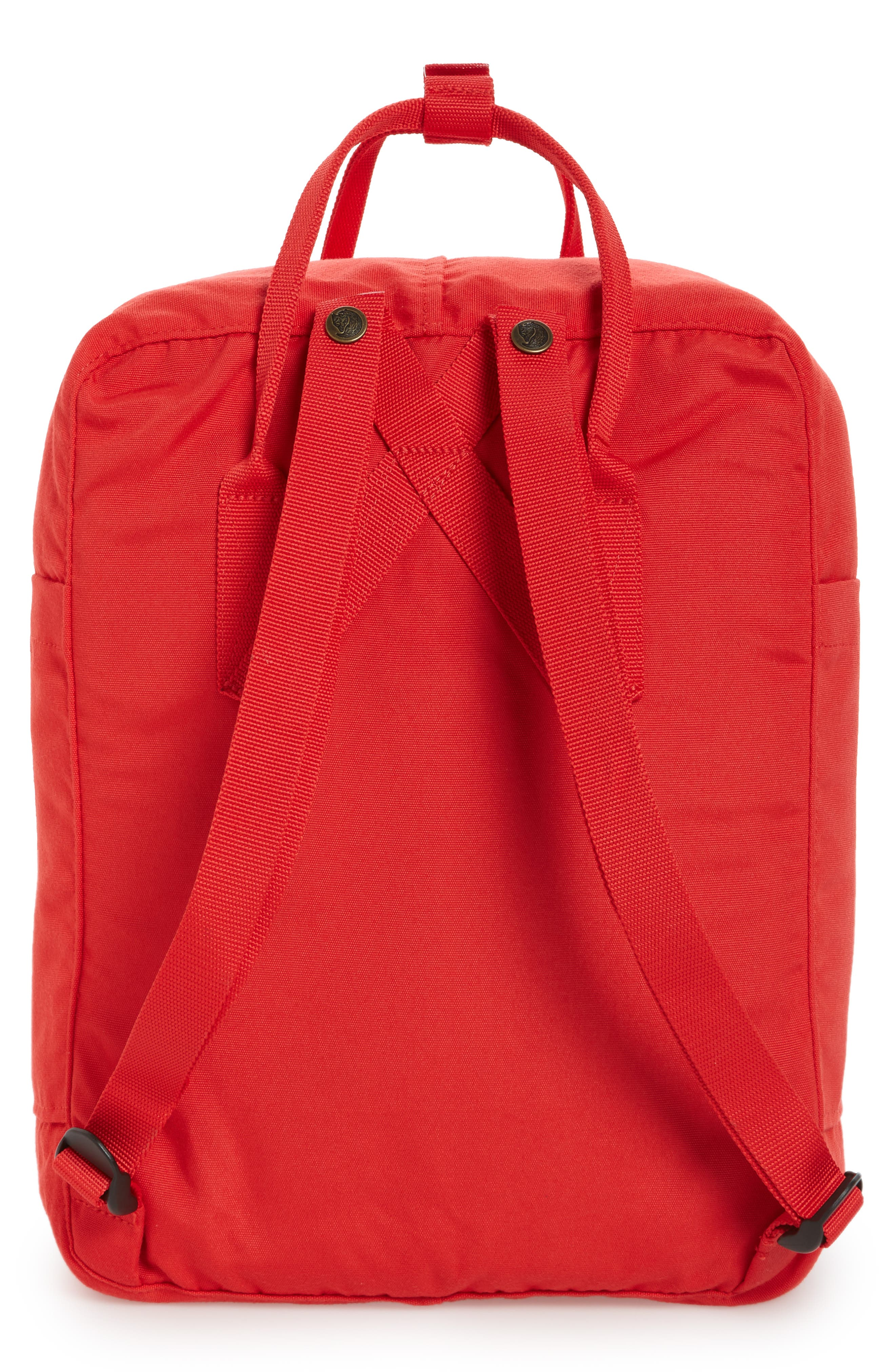 Re-Kånken Water Resistant Backpack,                             Alternate thumbnail 3, color,                             Red