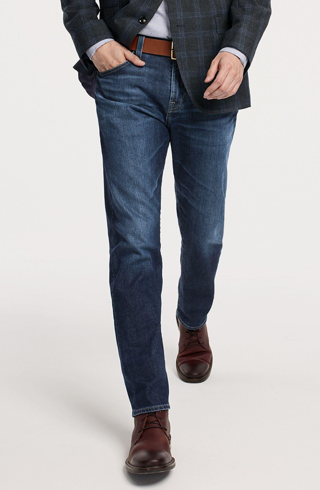 Alternate Image 7  - AG Ives Straight Leg Jeans (Brackett)