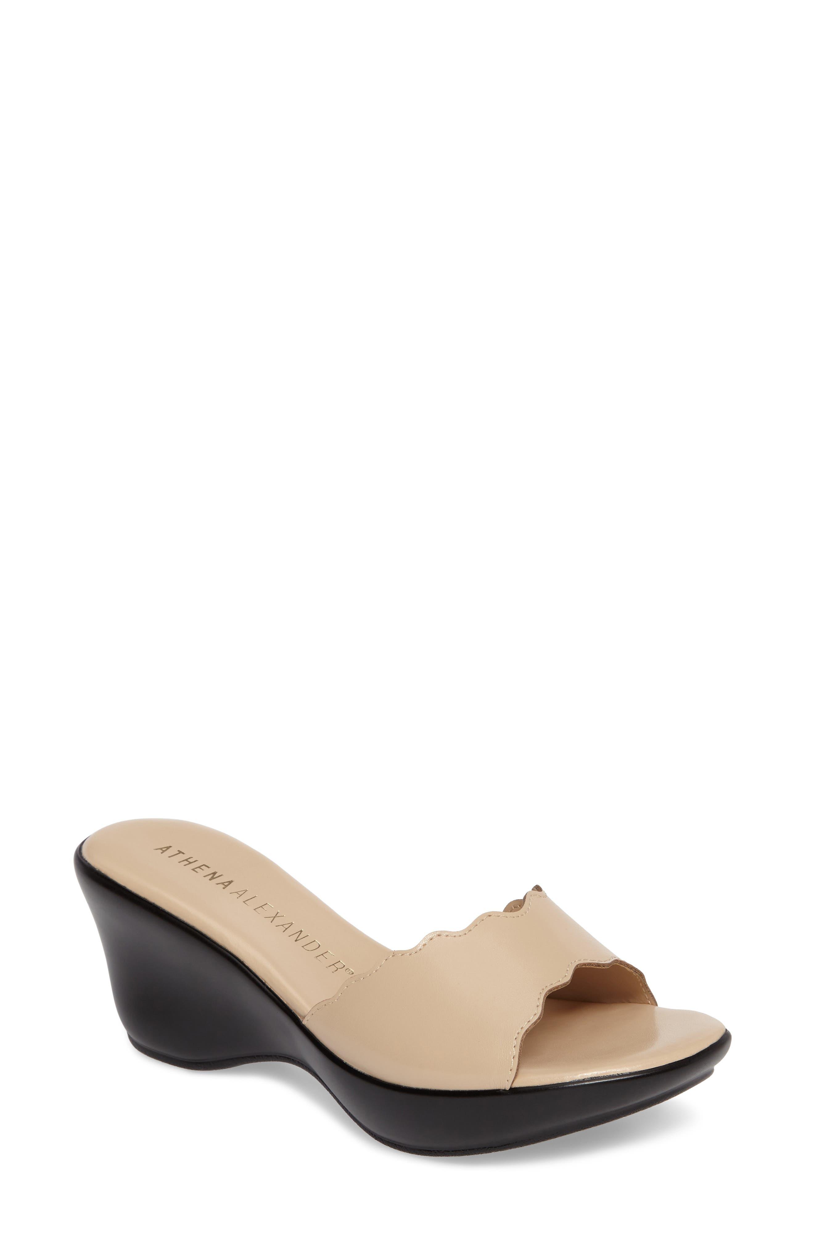 Novva Sandal,                         Main,                         color, Nude Faux Leather