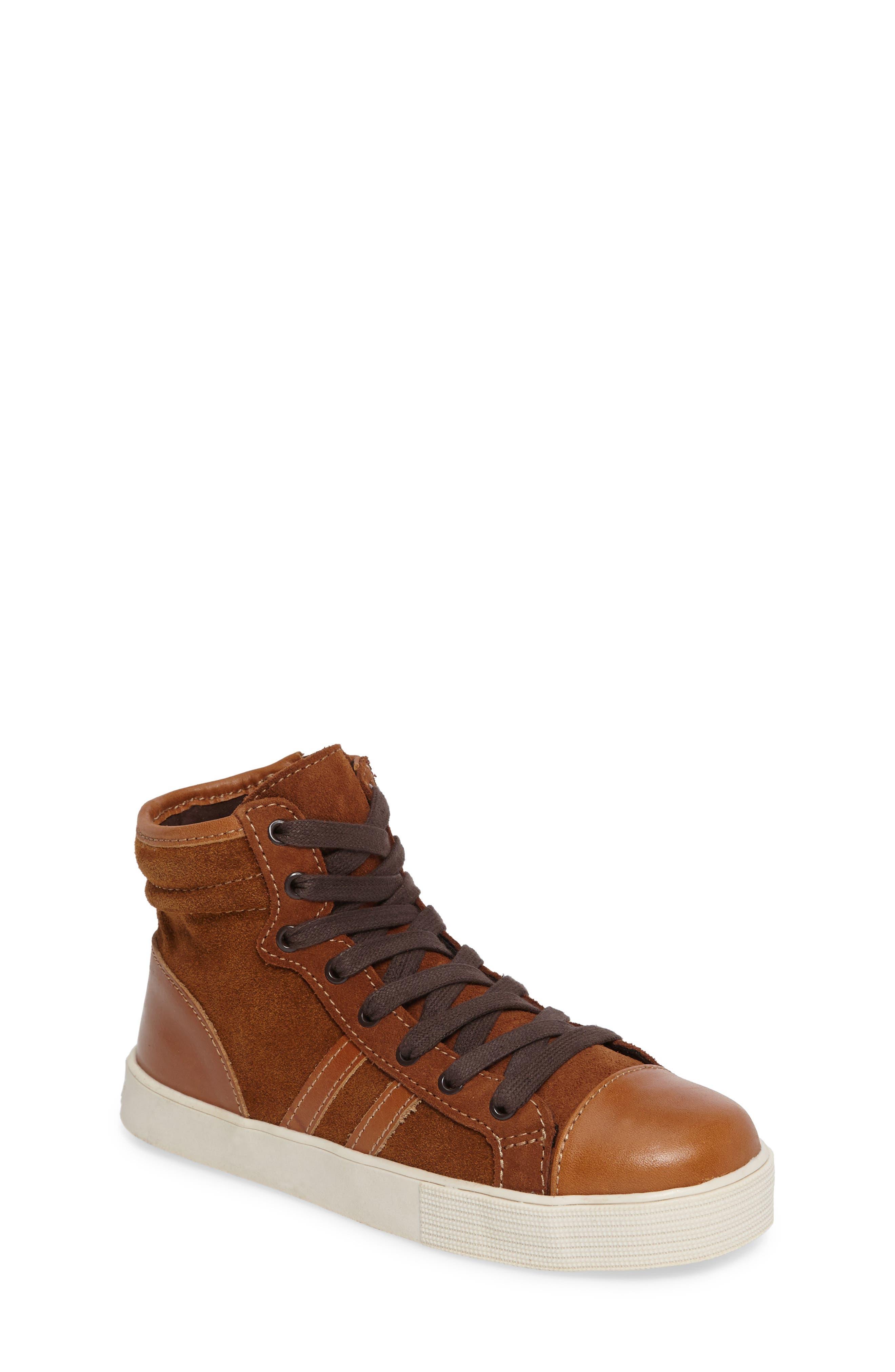 Kenneth Cole New York Jay Top High-Top Zip Sneaker (Toddler, Little Kid & Big)