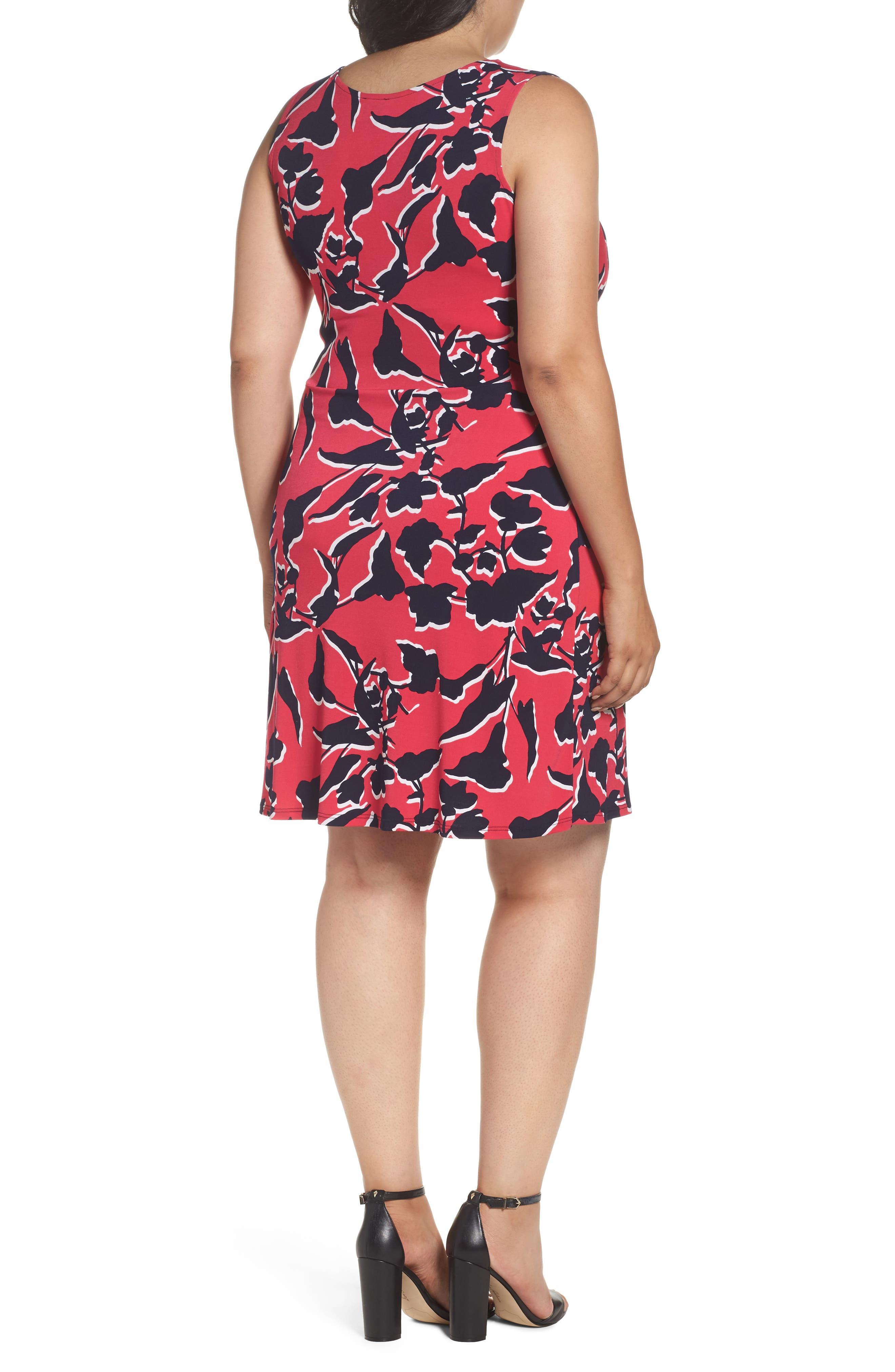 Alternate Image 2  - Leota Twist Front Jersey Dress (Plus Size)