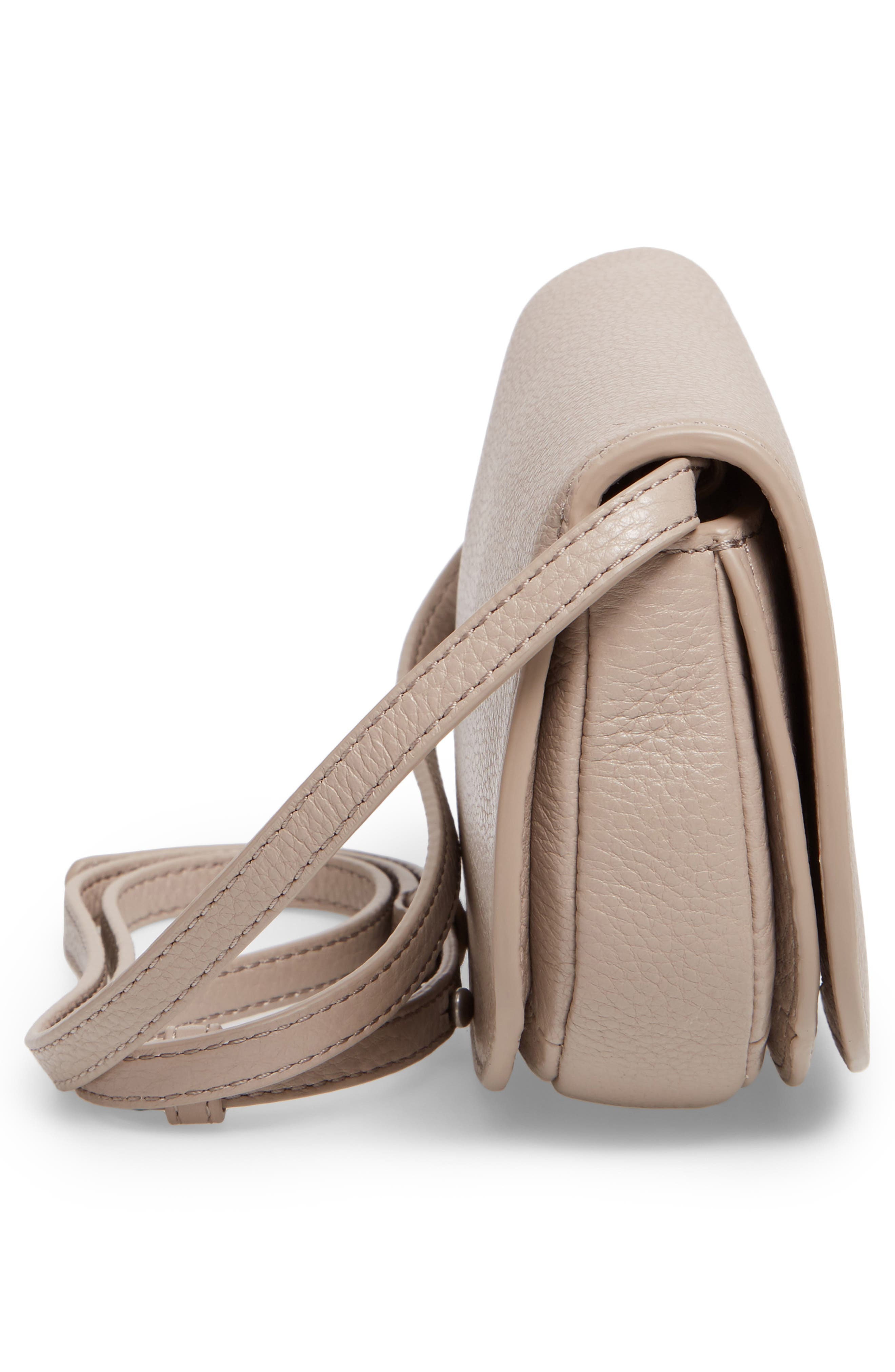 Alternate Image 5  - Tory Burch Mini Jamie Leather Crossbody Bag