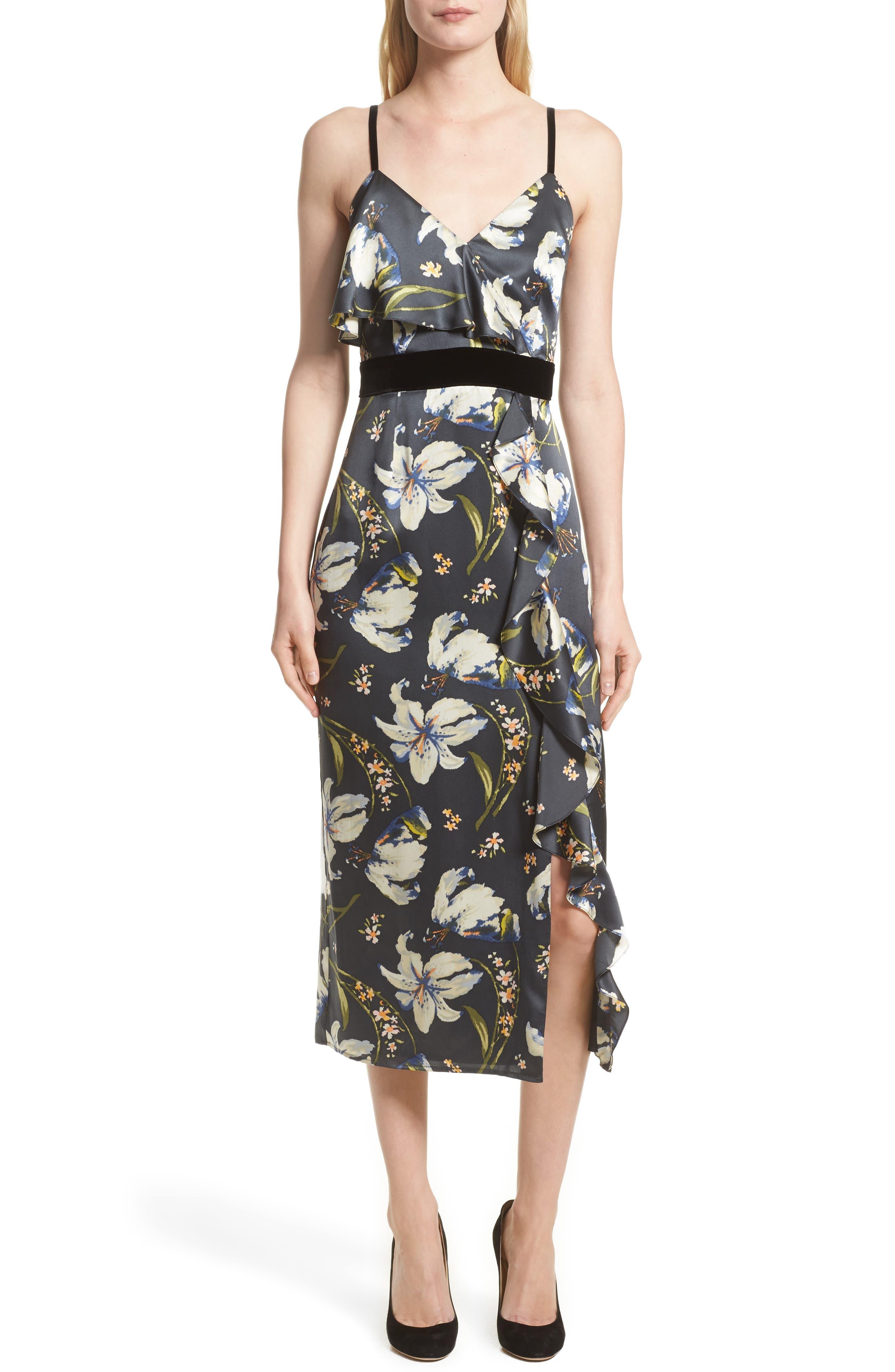 Cinq à Sept Leena Floral Print Dress (Nordstrom Exclusive)