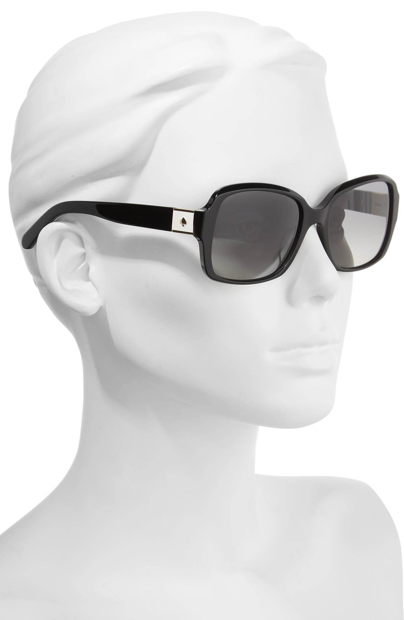 Alternate Image 2  - kate spade new york annor 54mm polarized sunglasses