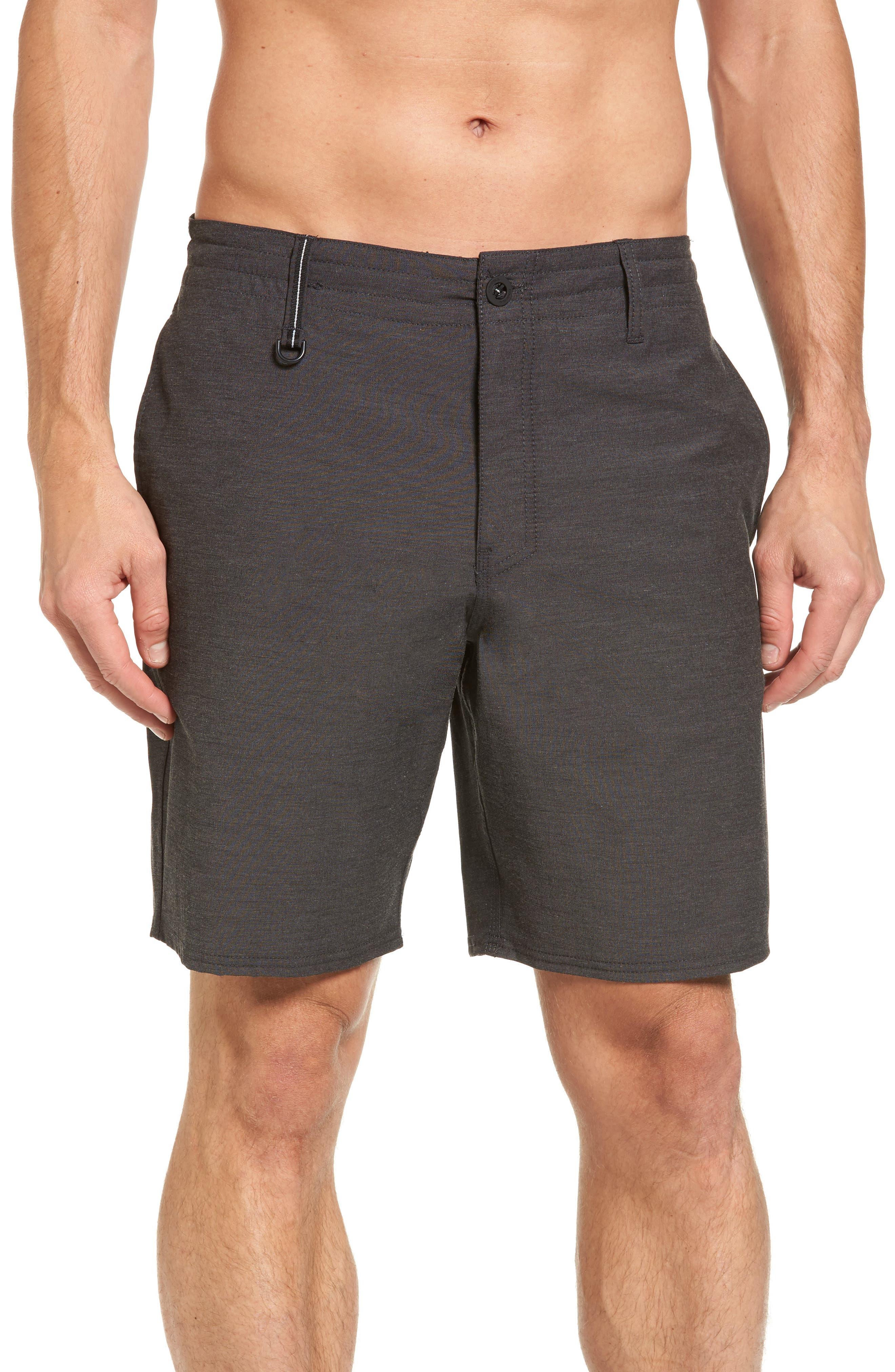 Traveler Recon Hybrid Shorts,                             Alternate thumbnail 4, color,                             Black