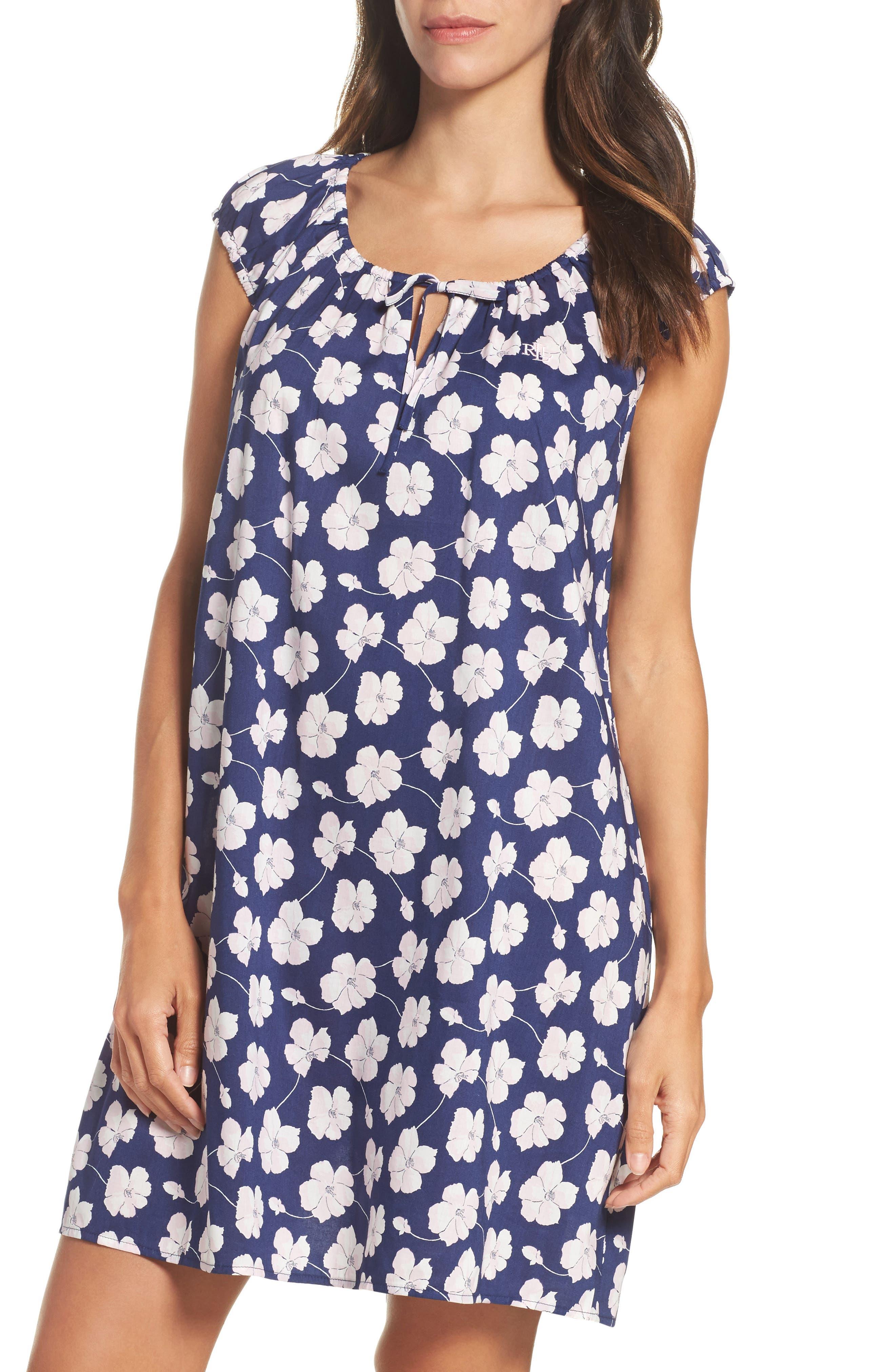 Main Image - Lauren Ralph Lauren Short Nightgown