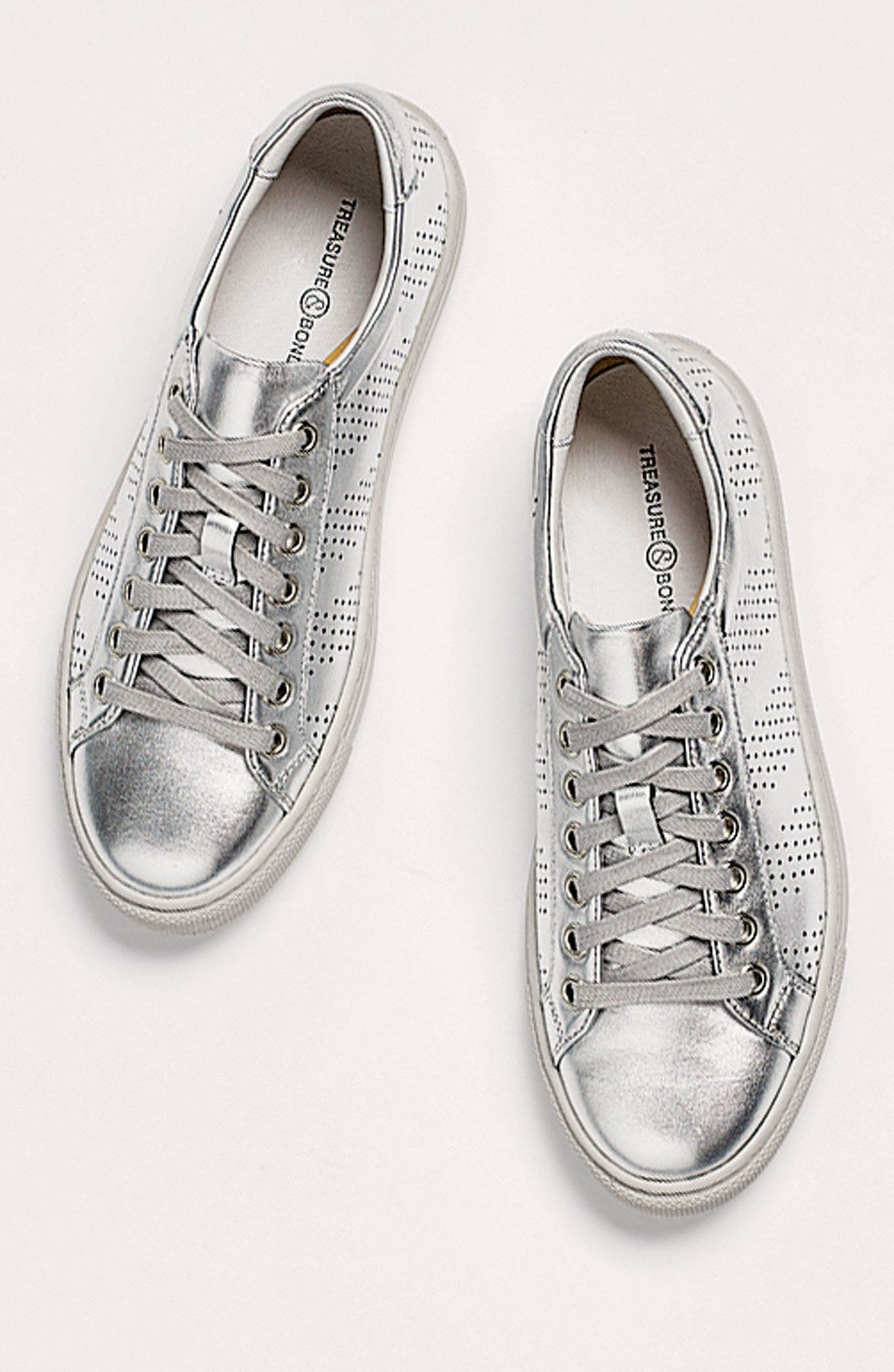 Alternate Image 7  - Treasure & Bond Merrick Perforated Sneaker (Women)