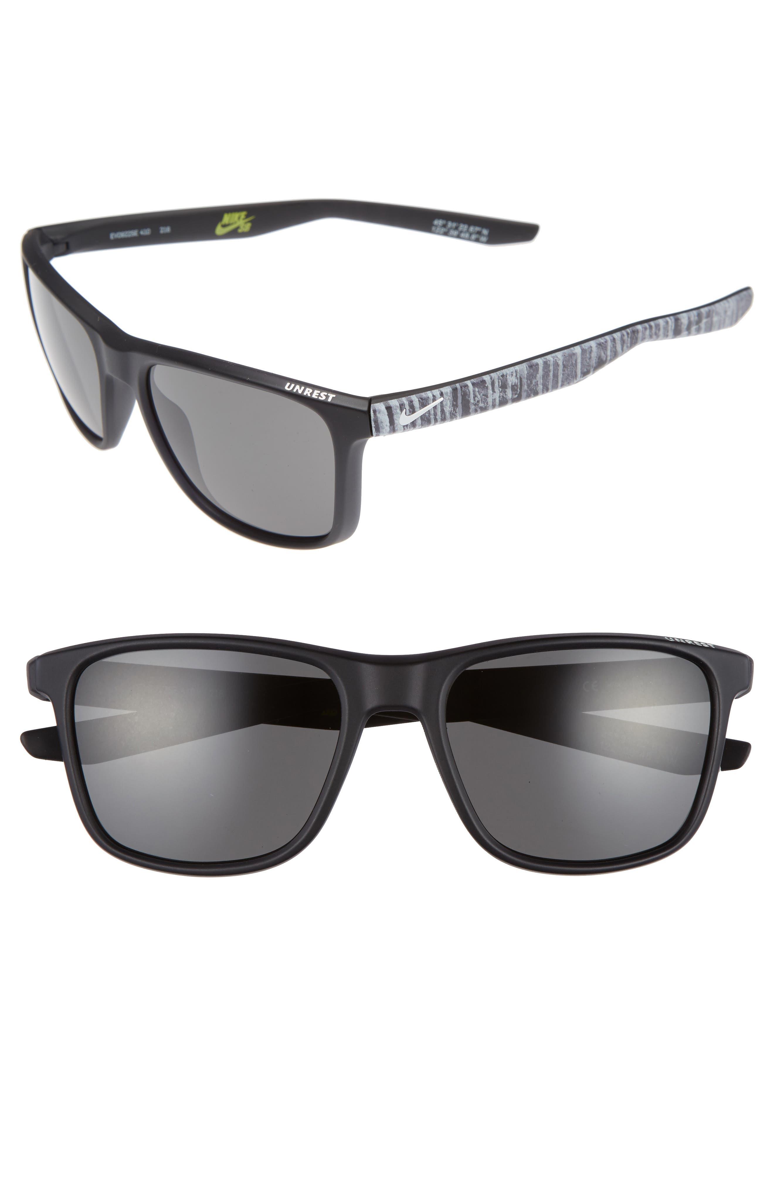 Main Image - Nike Unrest SE 57mm Sunglasses