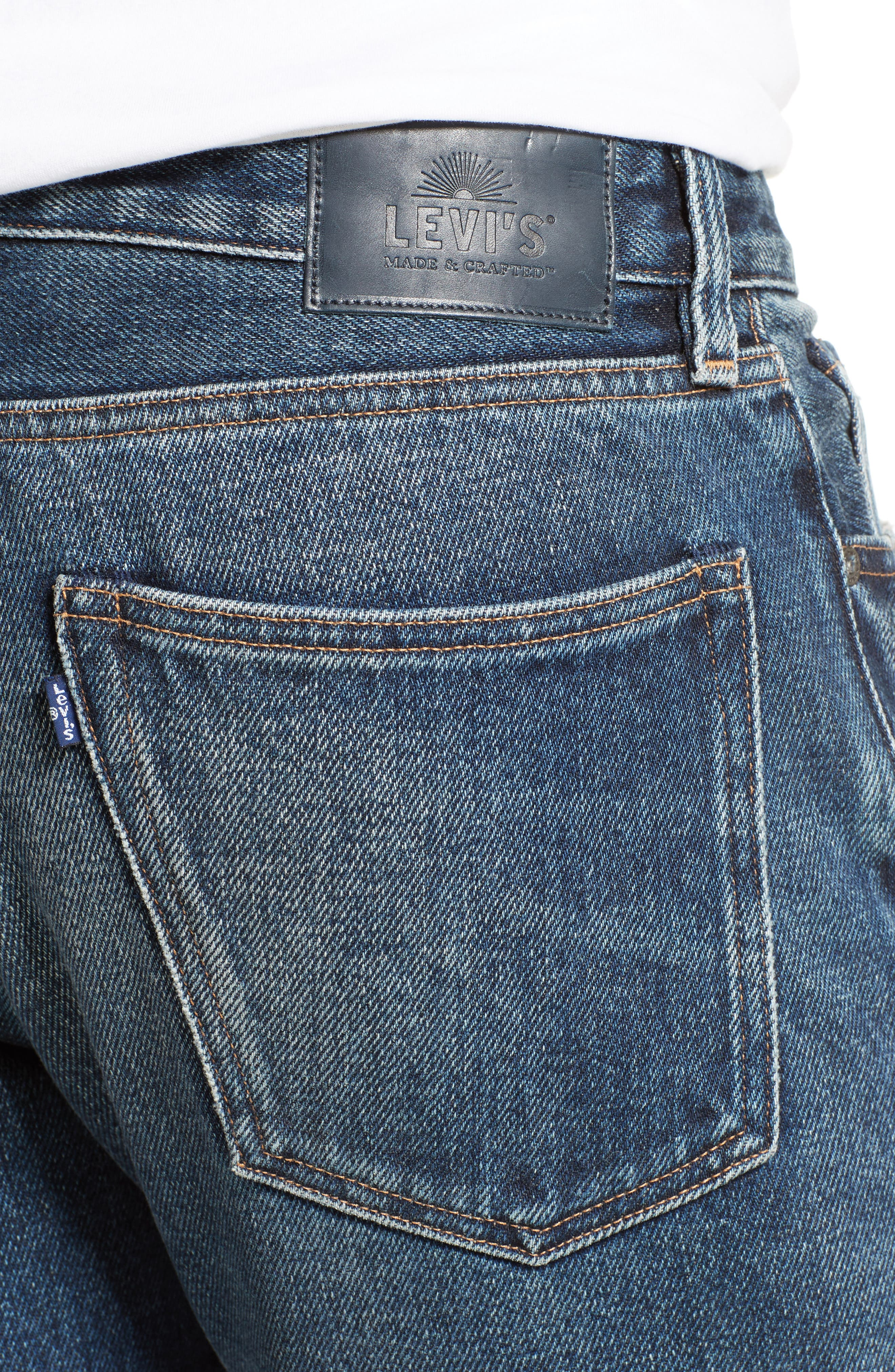 Alternate Image 4  - Levi's® Made & Crafted™ Tack Slim Fit Jeans