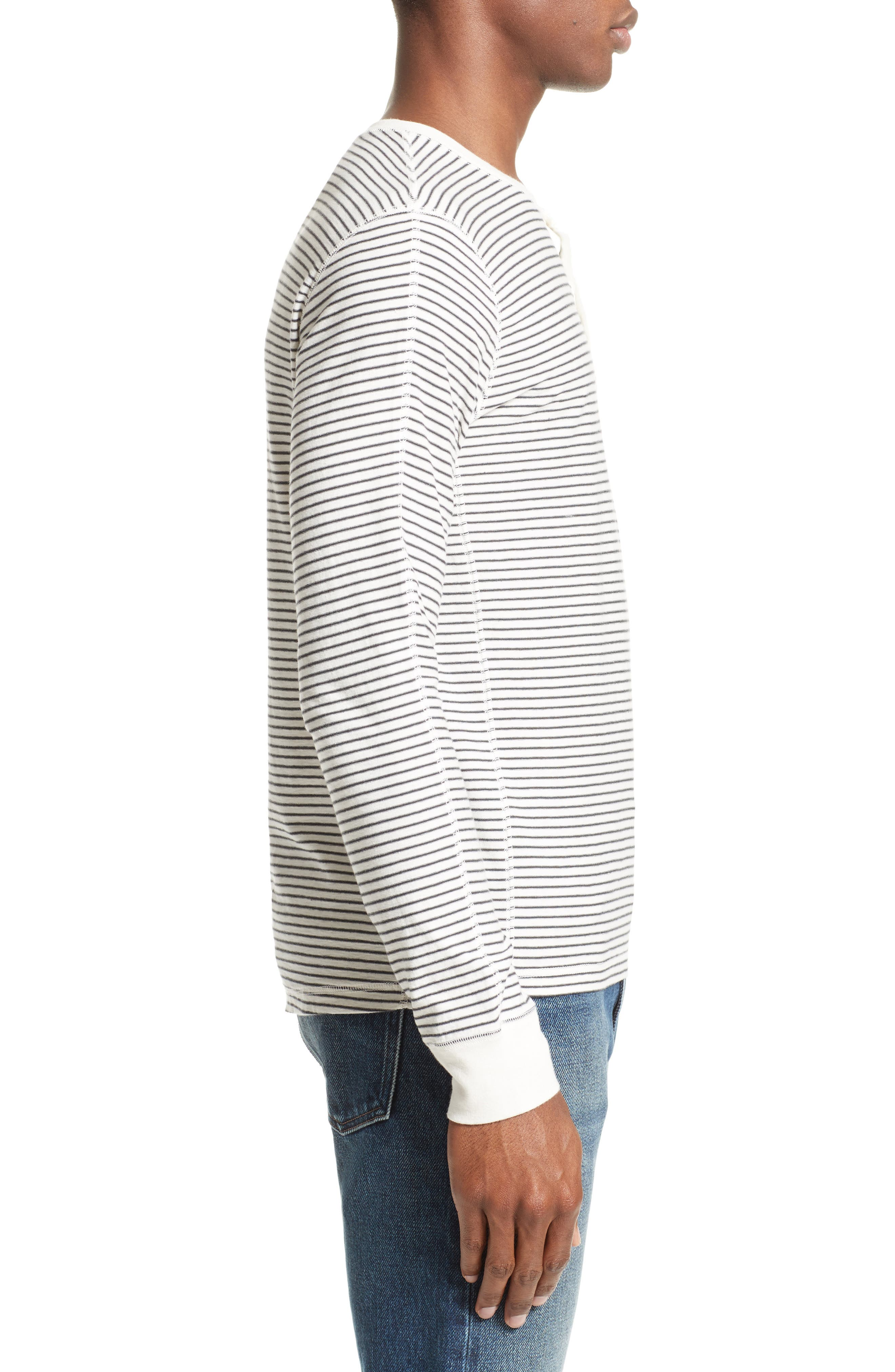 Alternate Image 3  - Levi's® Made & Crafted™ Stripe Henley