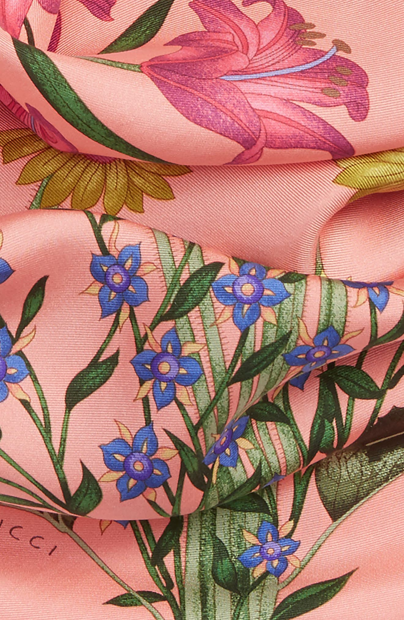 Alternate Image 3  - Gucci New Flora Foulard Scarf