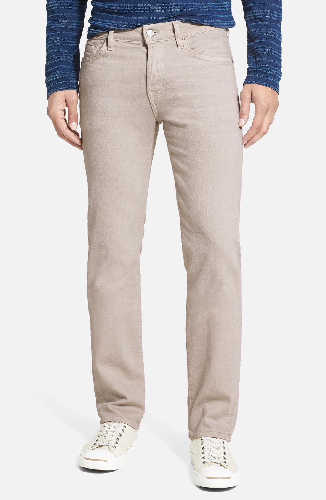 Main Image - 7 For All Mankind® 'Slimmy - Luxe Performance' Slim Fit Jeans