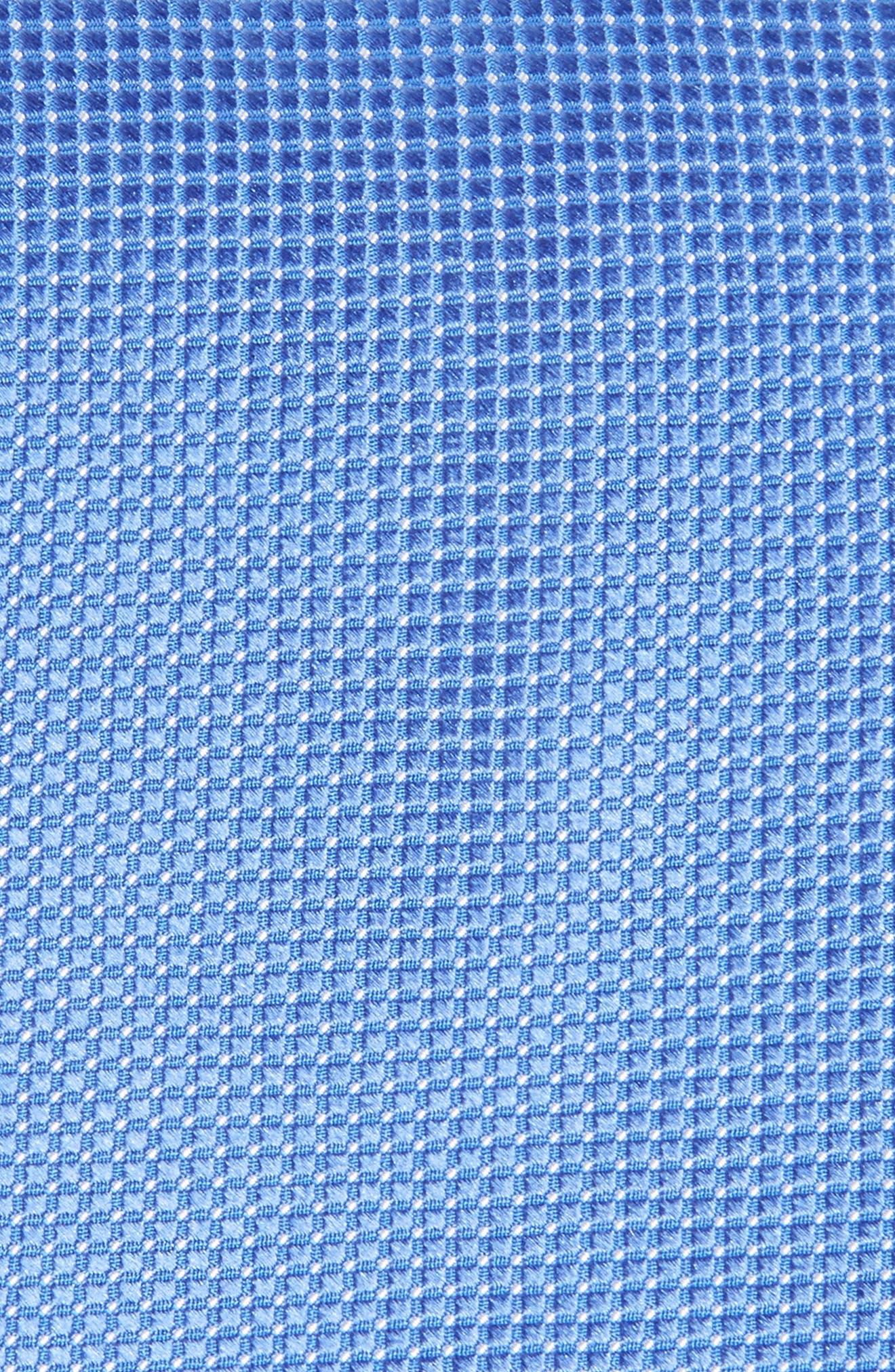 Micro Pin Dot Silk Tie,                             Alternate thumbnail 2, color,                             Blue