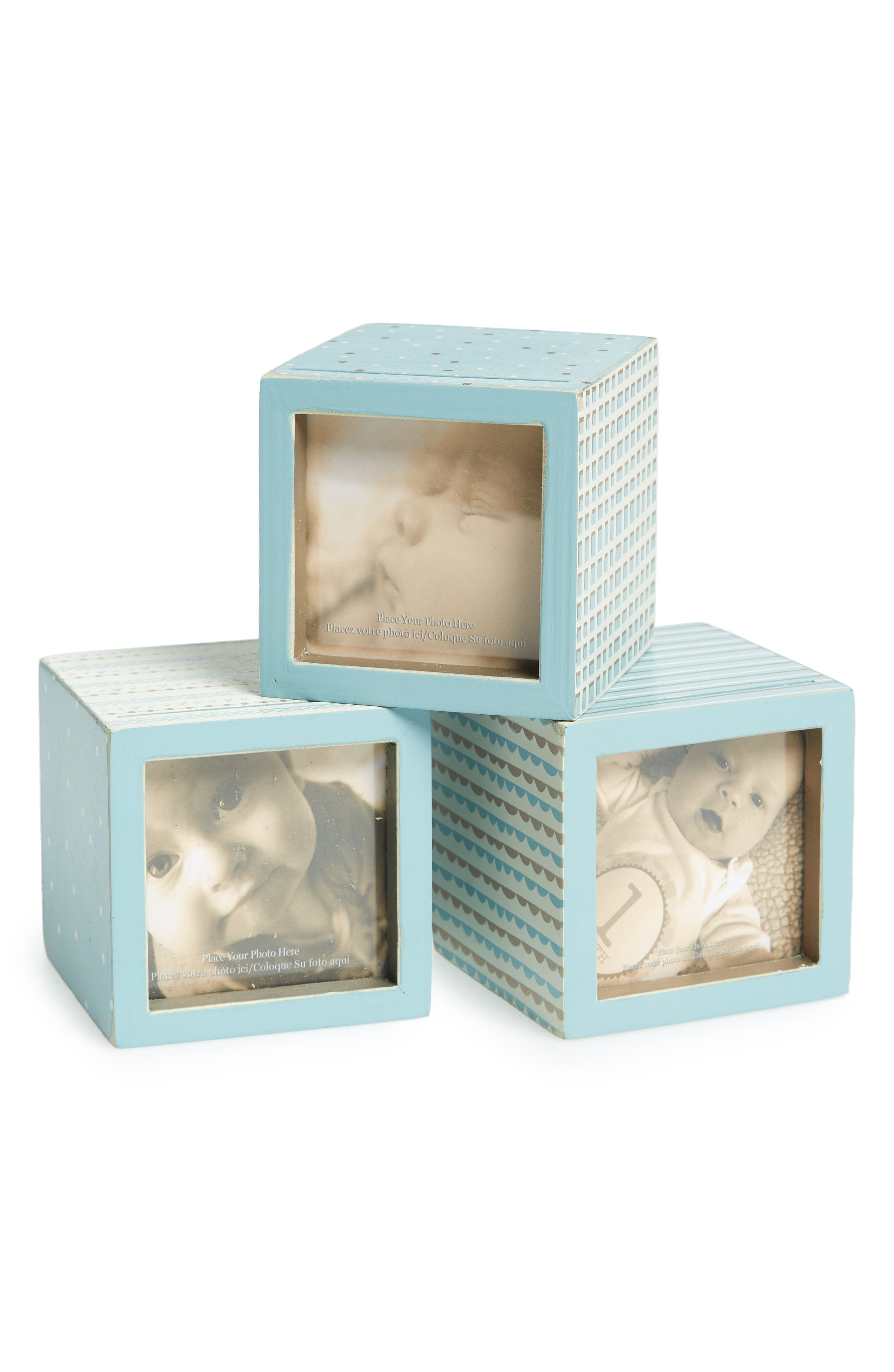 Primitives by Kathy Set of 3 Photo Blocks