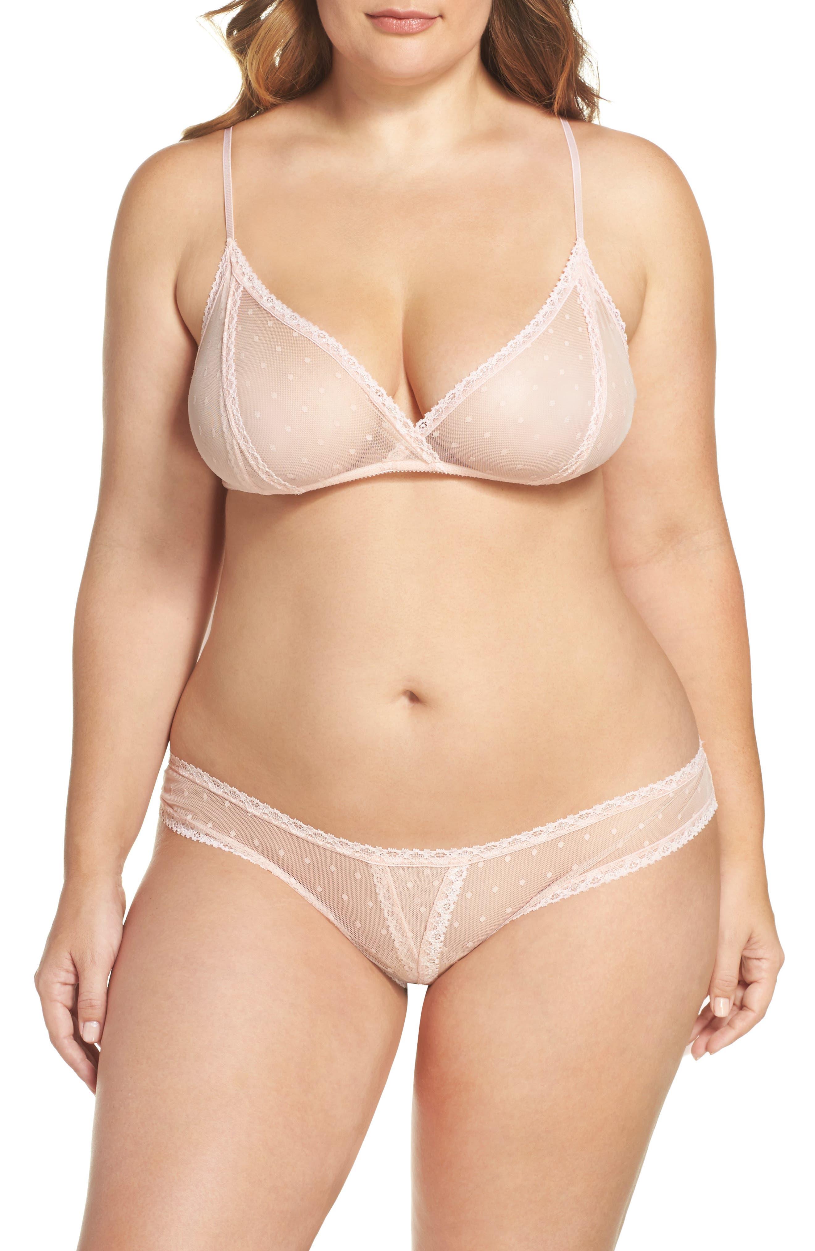 Only Hearts 'Coucou Lola' Bralette & Bikini (Plus Size)