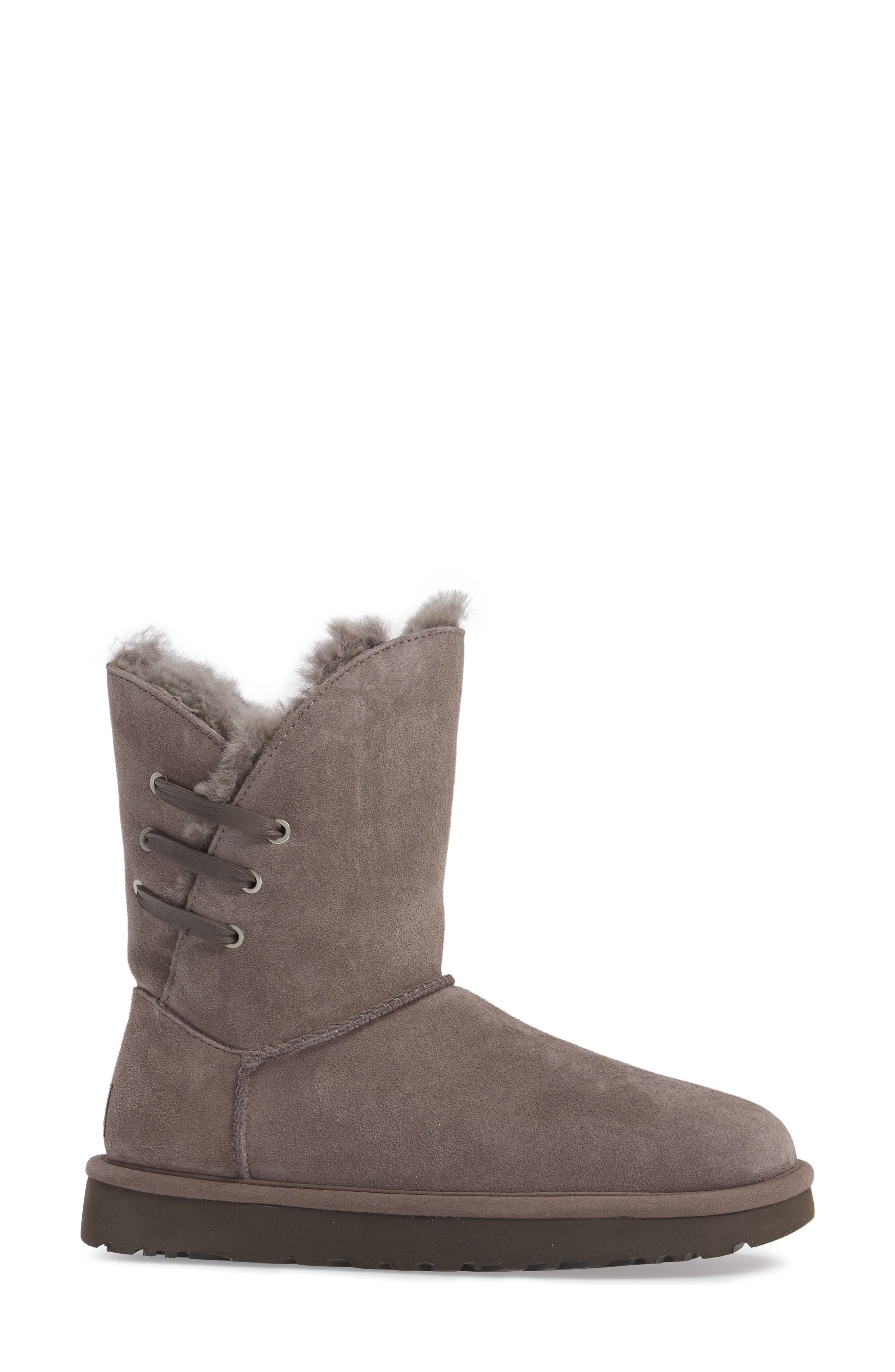 Constantine Boot,                             Alternate thumbnail 4, color,                             Charcoal Suede