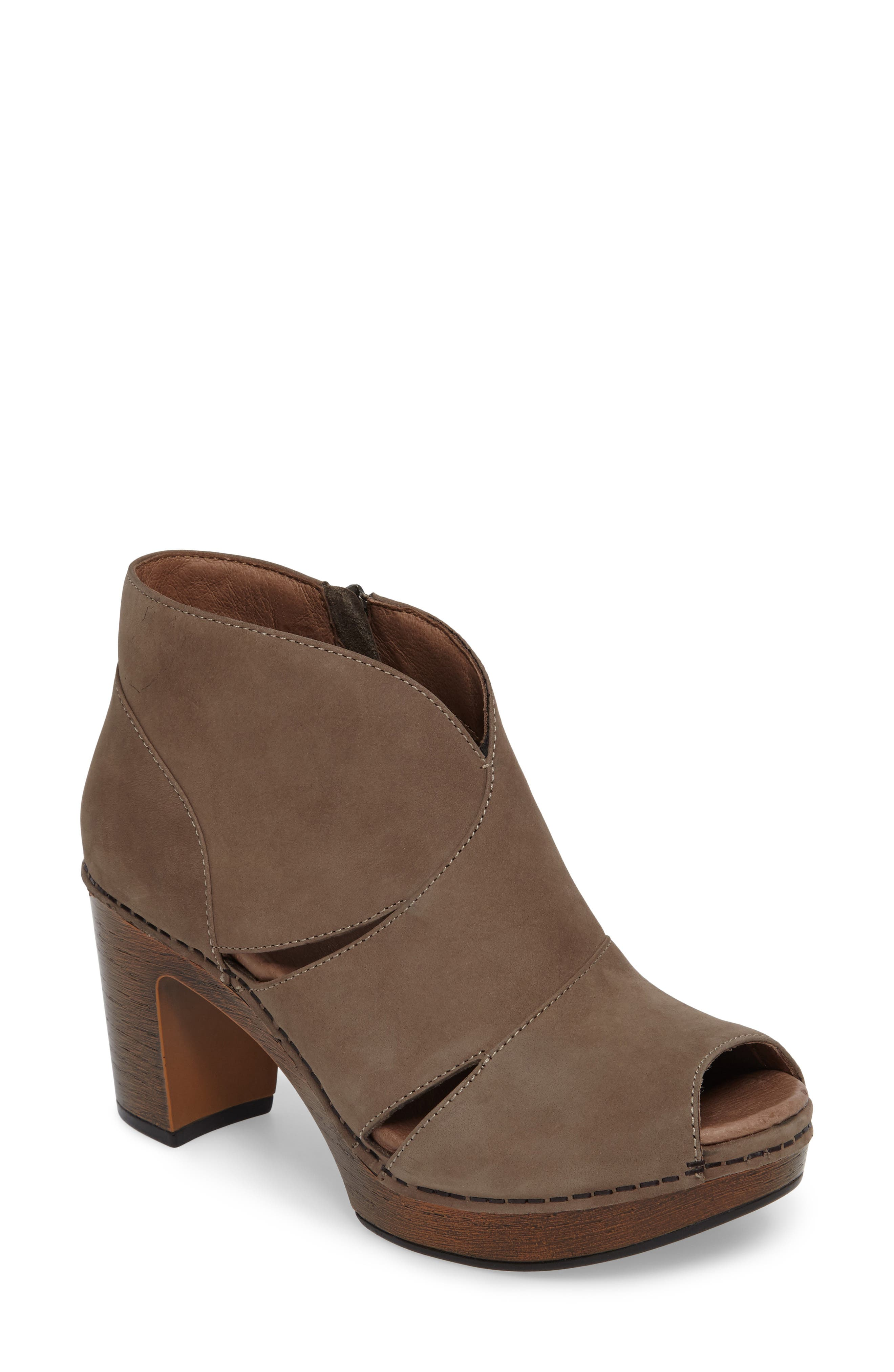 Dansko Delphina Block Heel Bootie (Women)