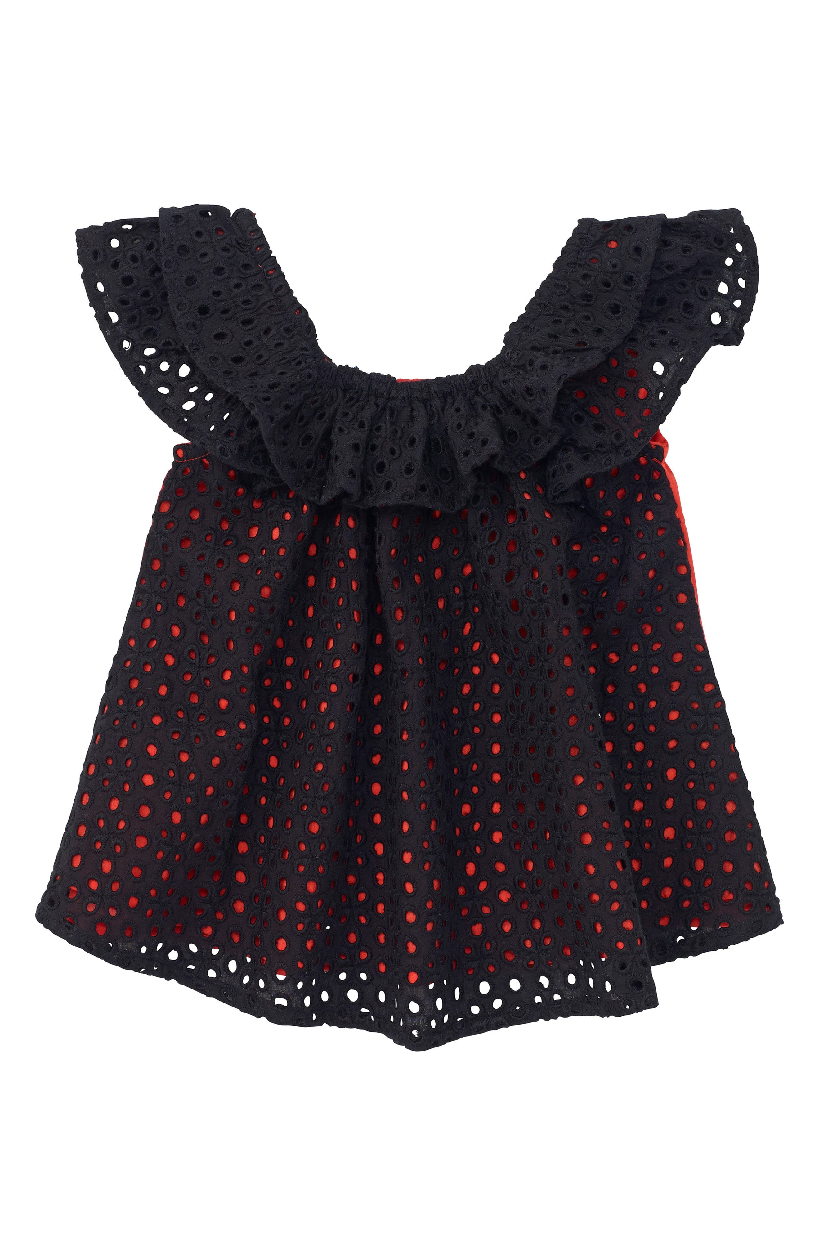 Main Image - Masala Baby Flutter Top (Baby Girls)