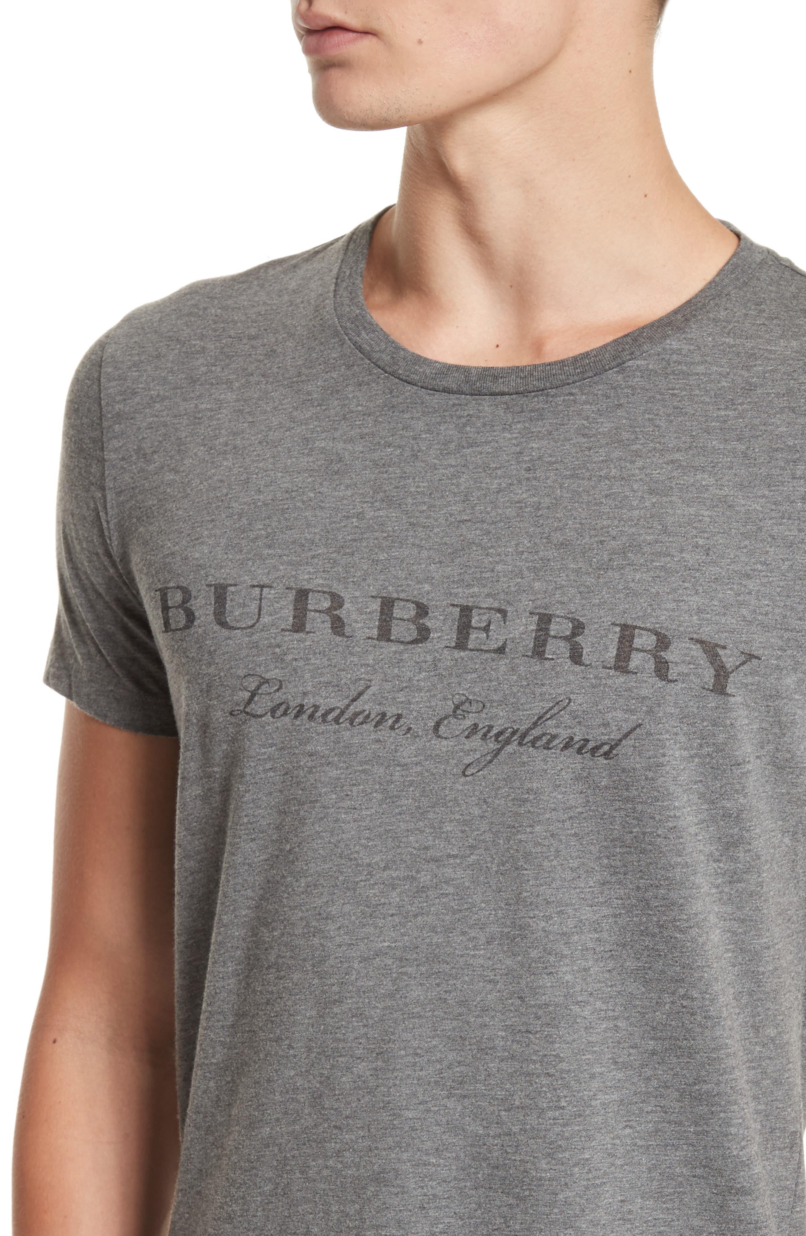 Martford Regular Fit T-Shirt,                             Alternate thumbnail 4, color,                             Grey Melange