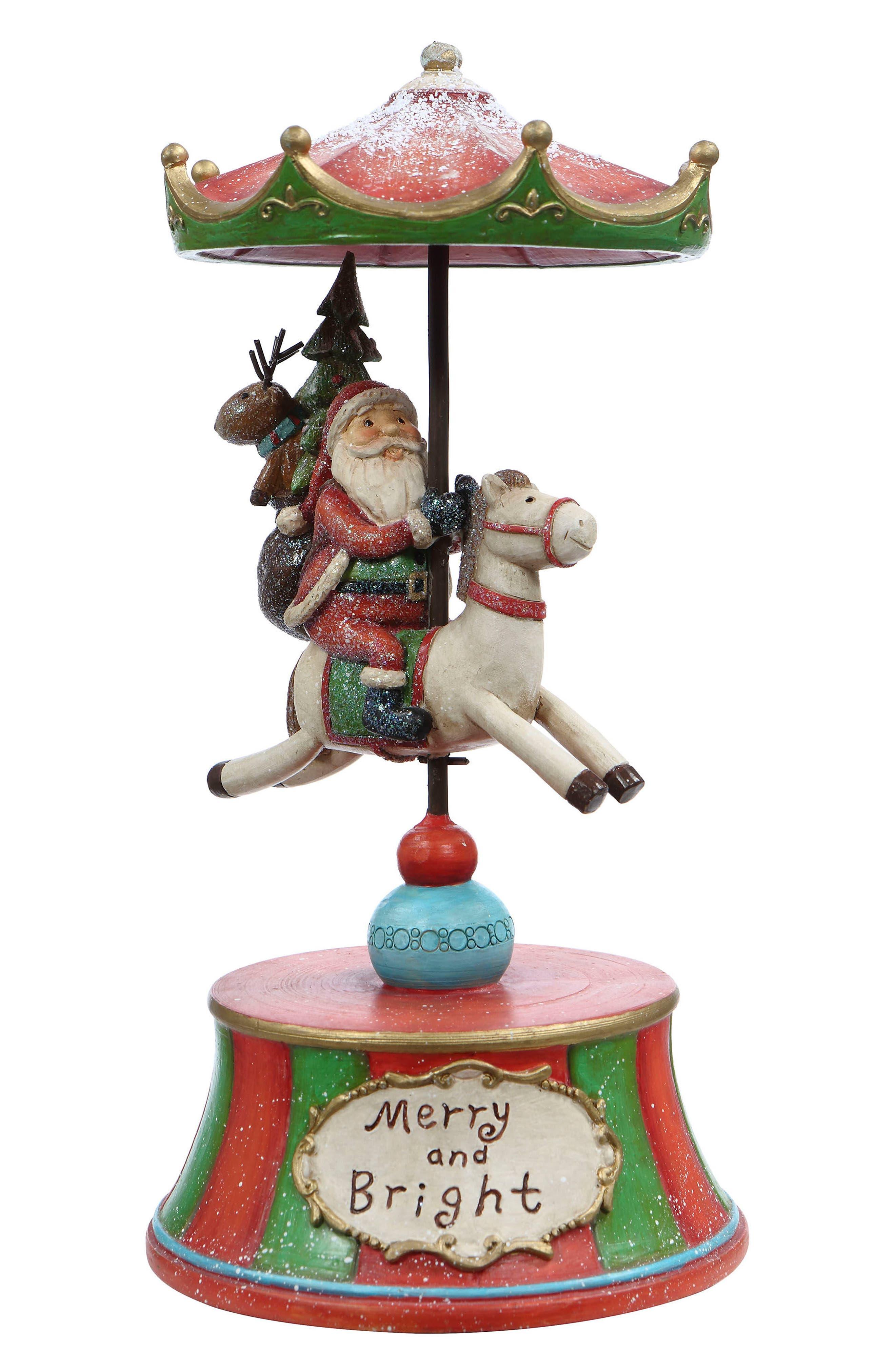 Mark Roberts Santa Carousel