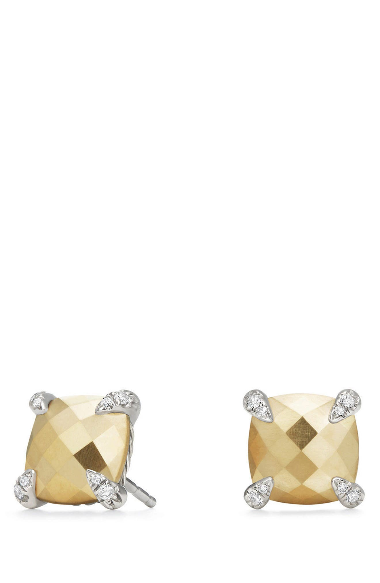 Alternate Image 1 Selected - David Yurman Châtelaine Earrings with Diamonds