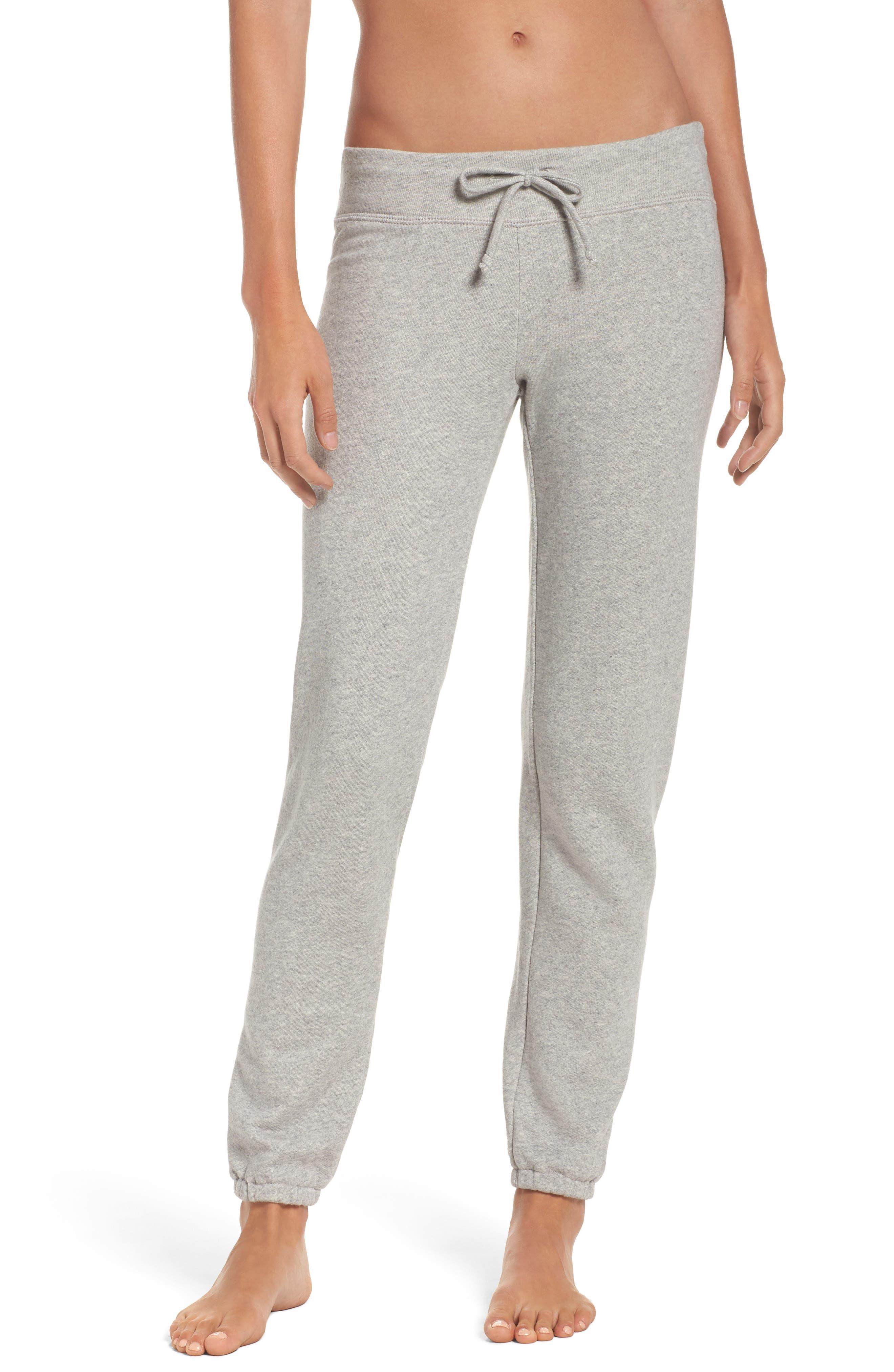 Sweatpants,                         Main,                         color, Light Heather Gray