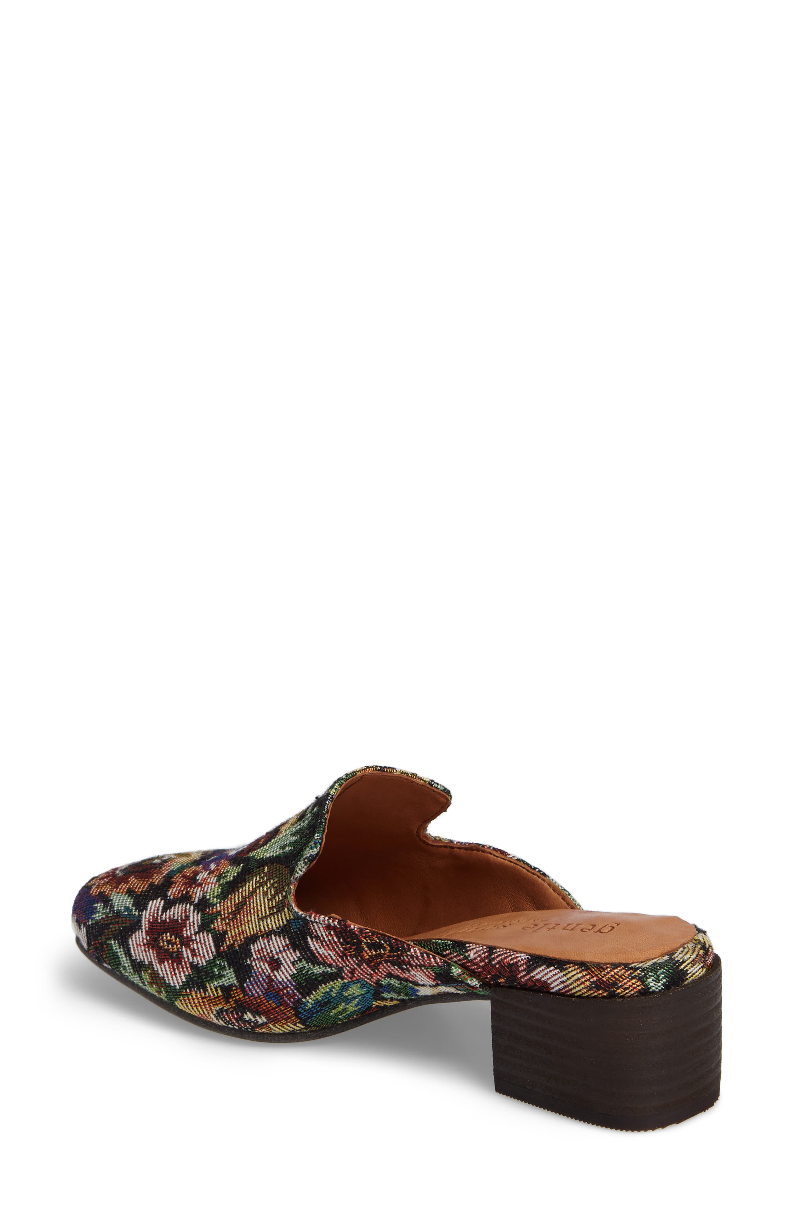 Eida Loafer Mule,                             Alternate thumbnail 2, color,                             Floral Fabric