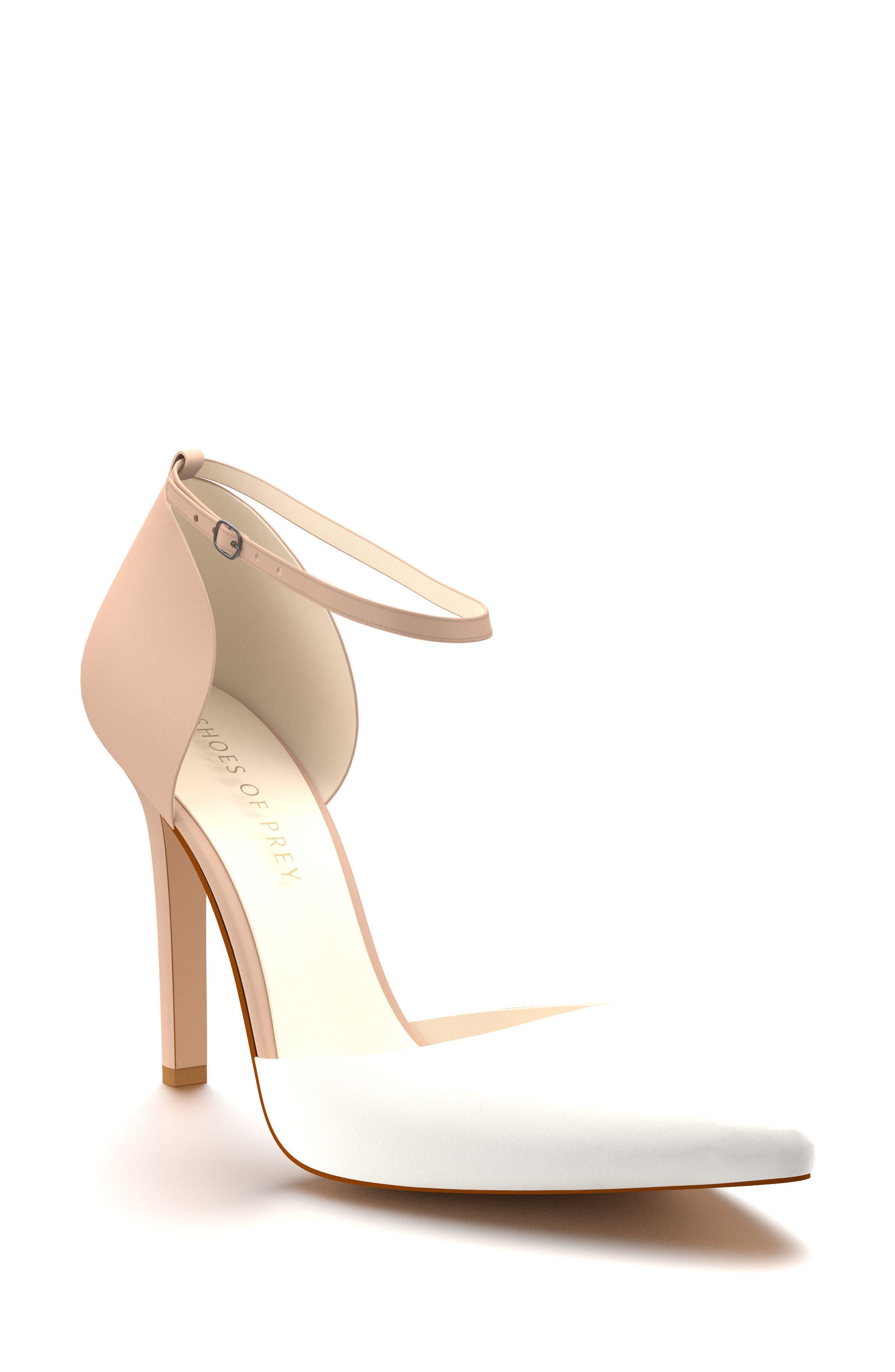 Shoes of Prey d'Orsay Ankle Strap Pump (Women)