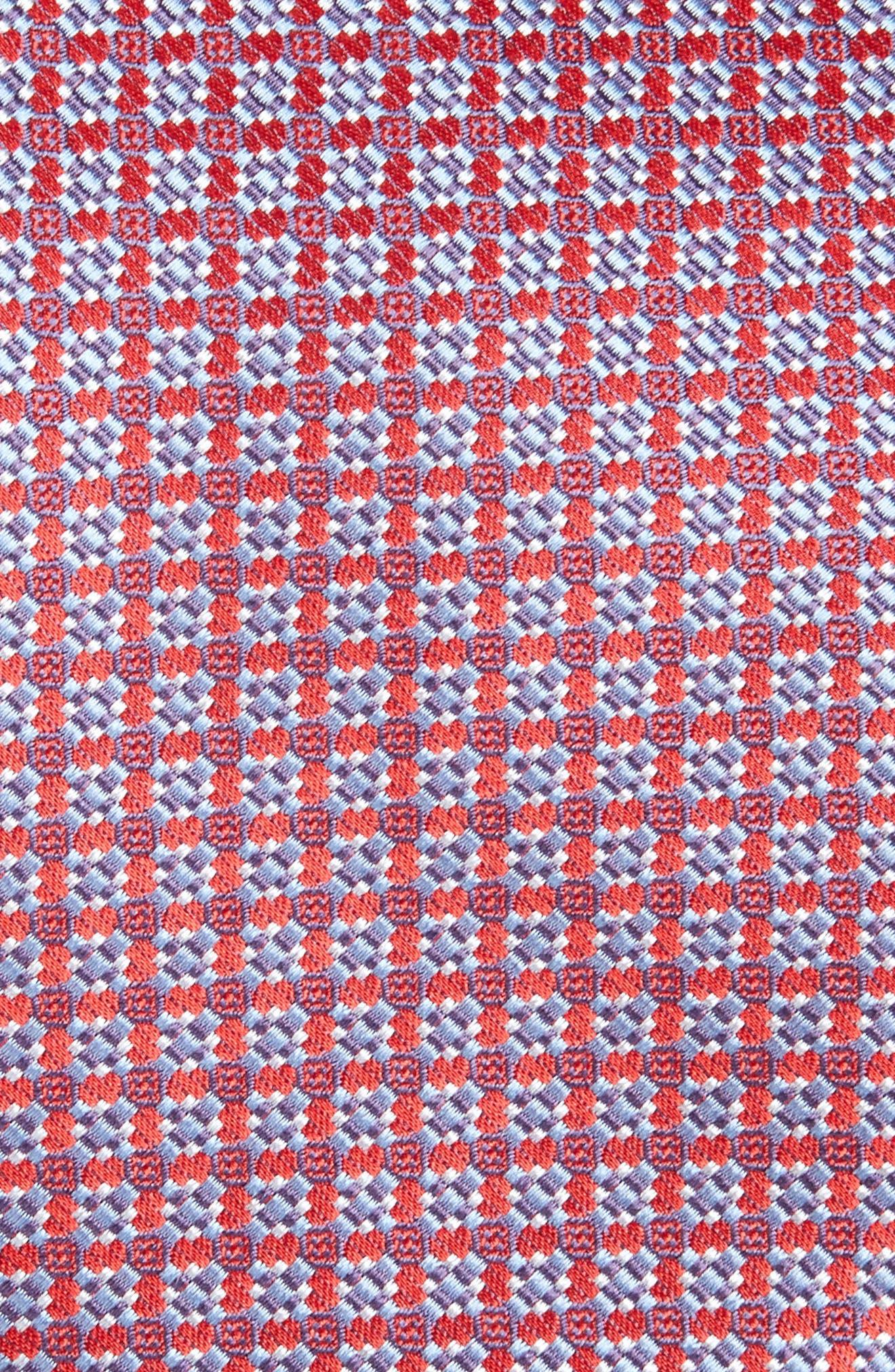 Alternate Image 2  - Brioni Neat Silk Tie