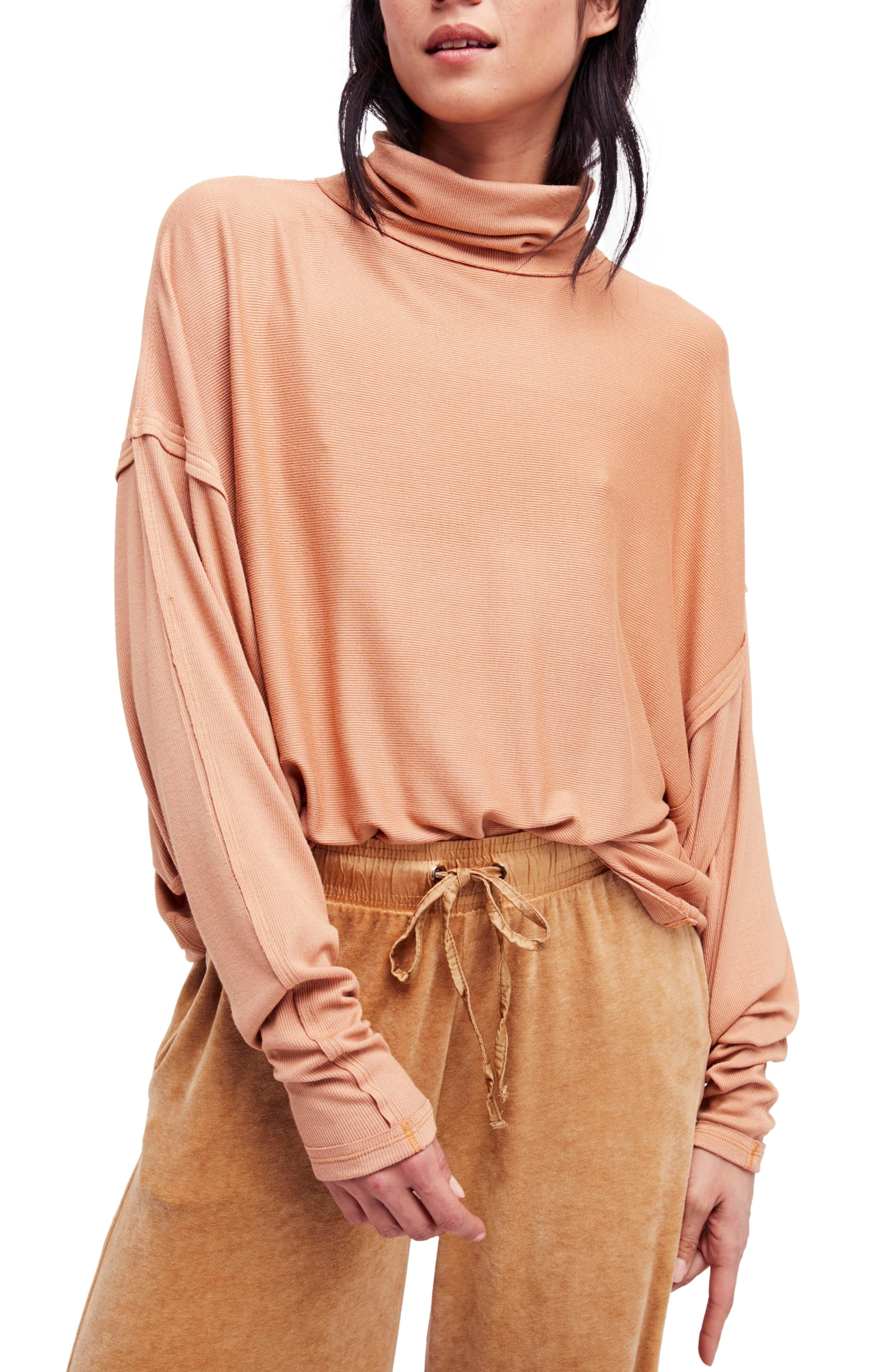 Free People Alameda Turtleneck Top