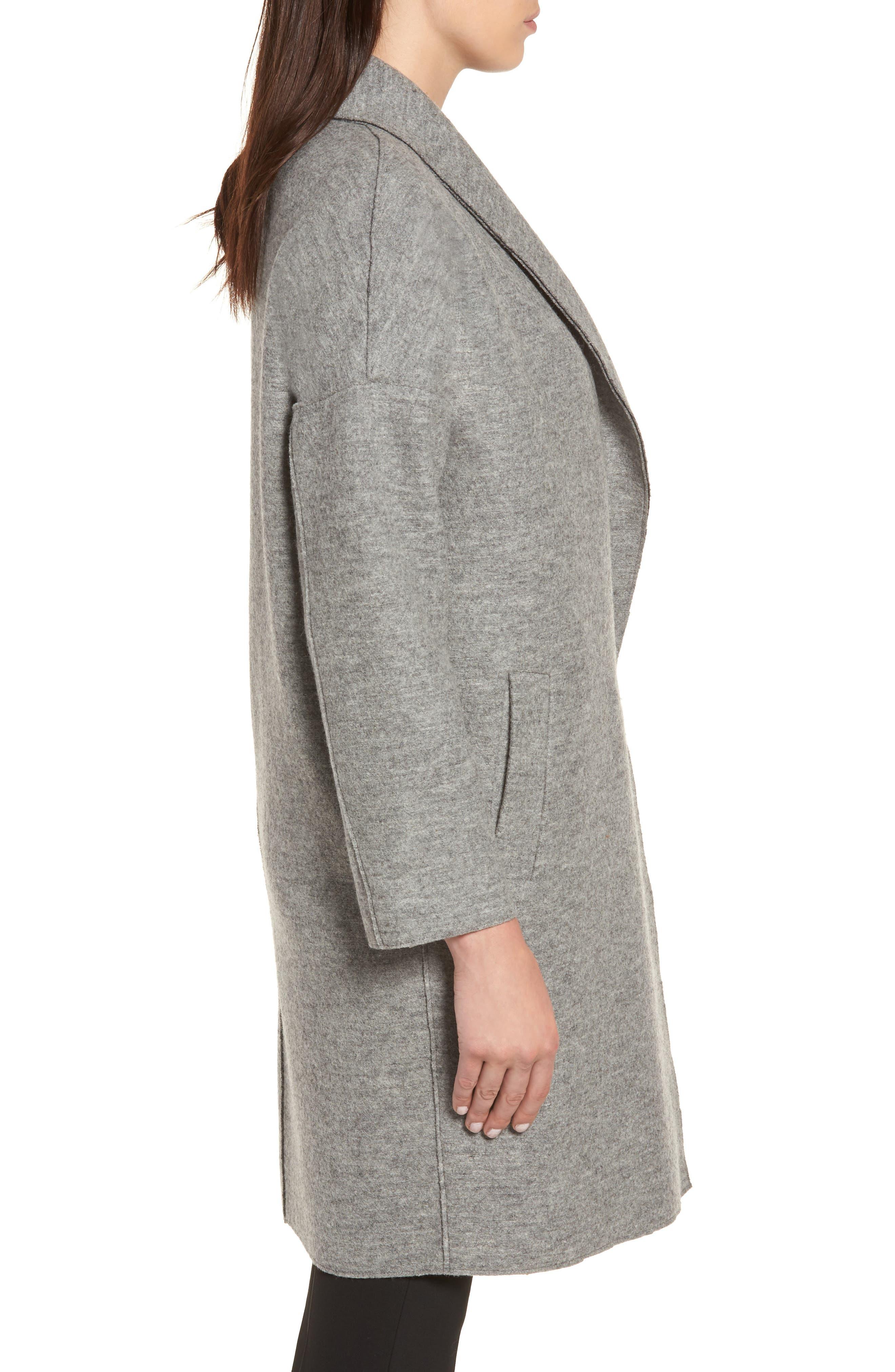 Alternate Image 3  - Sosken Emma Boiled Wool Coat