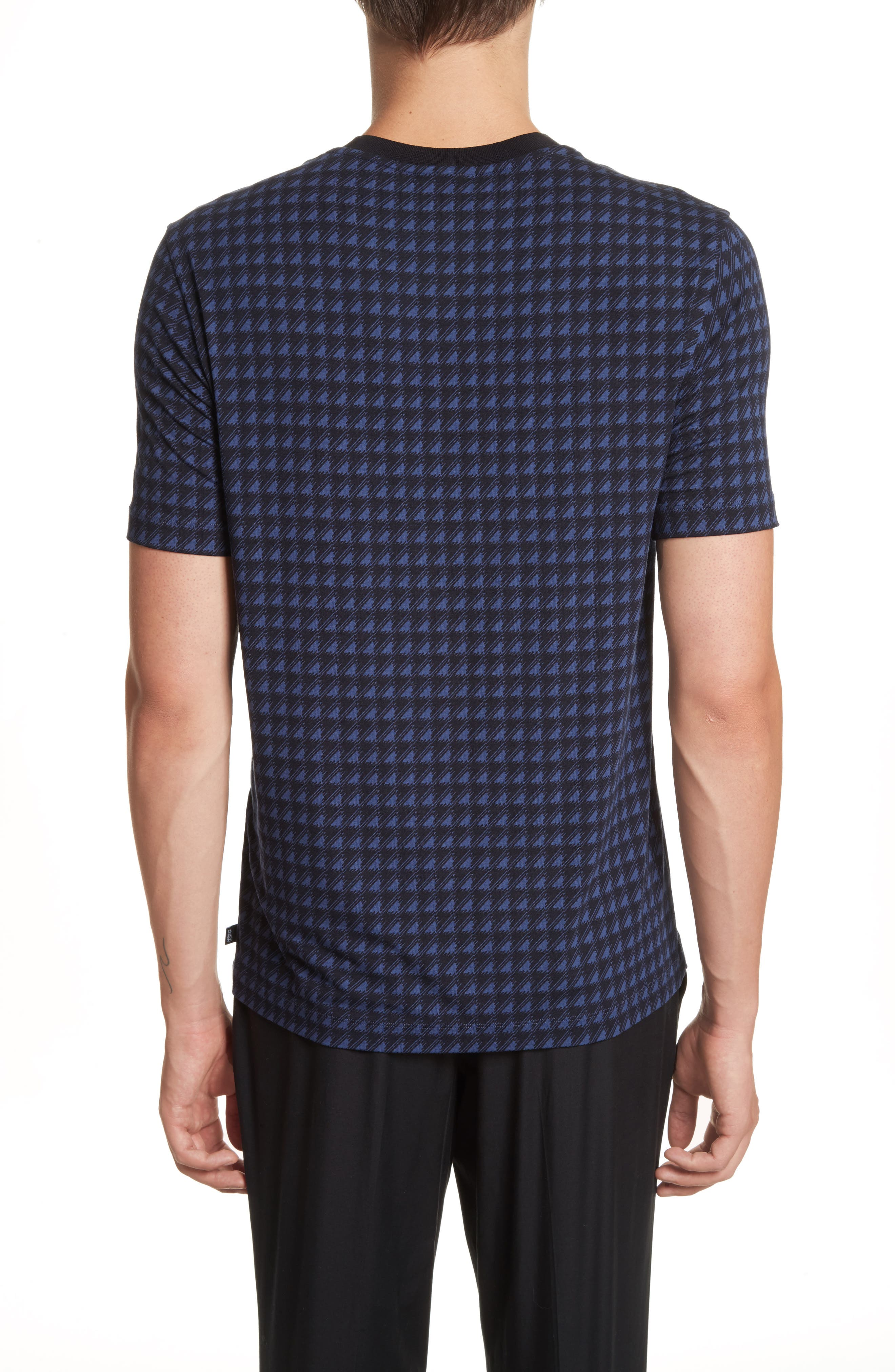 Alternate Image 2  - Armani Collezioni High V-Neck T-Shirt