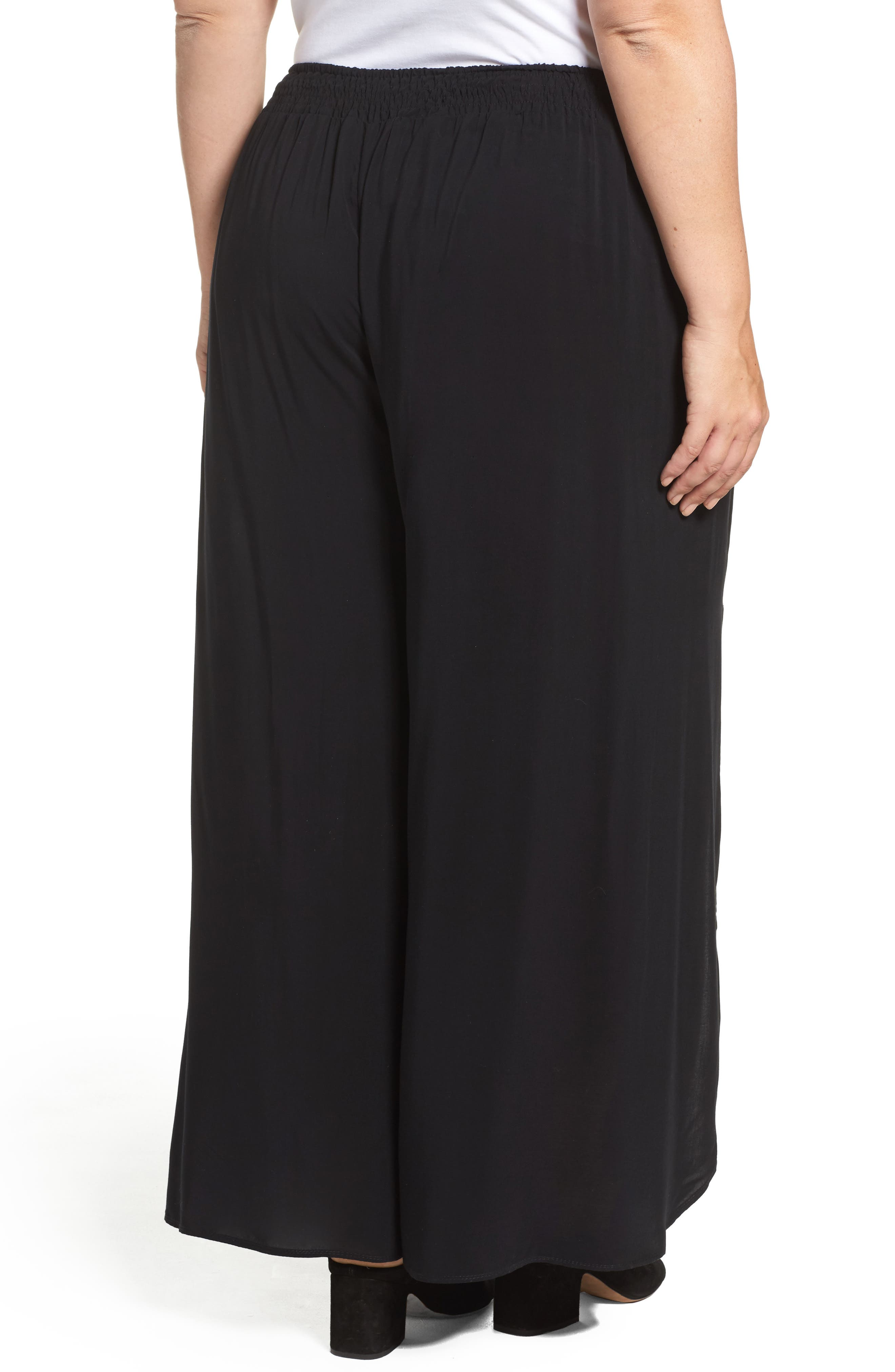 Alternate Image 3  - Tart Nima Front Slit Pants (Plus Size)