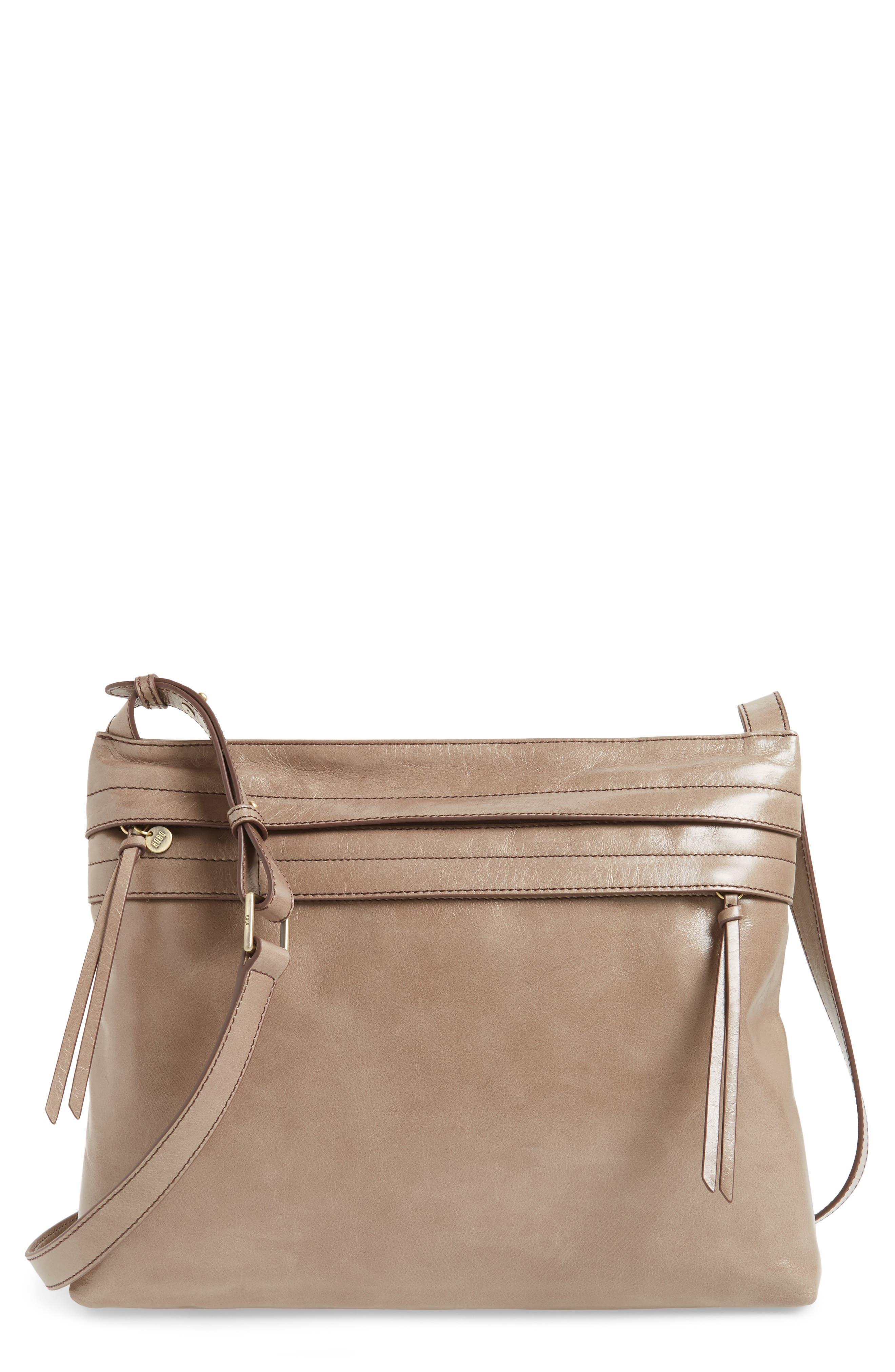 Hobo Larkin Leather Messenger Bag