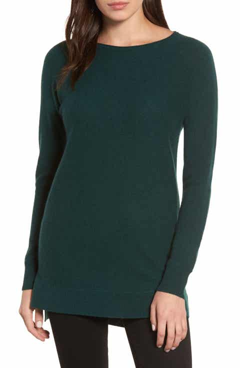 Women's Green Tunic Sweaters | Nordstrom