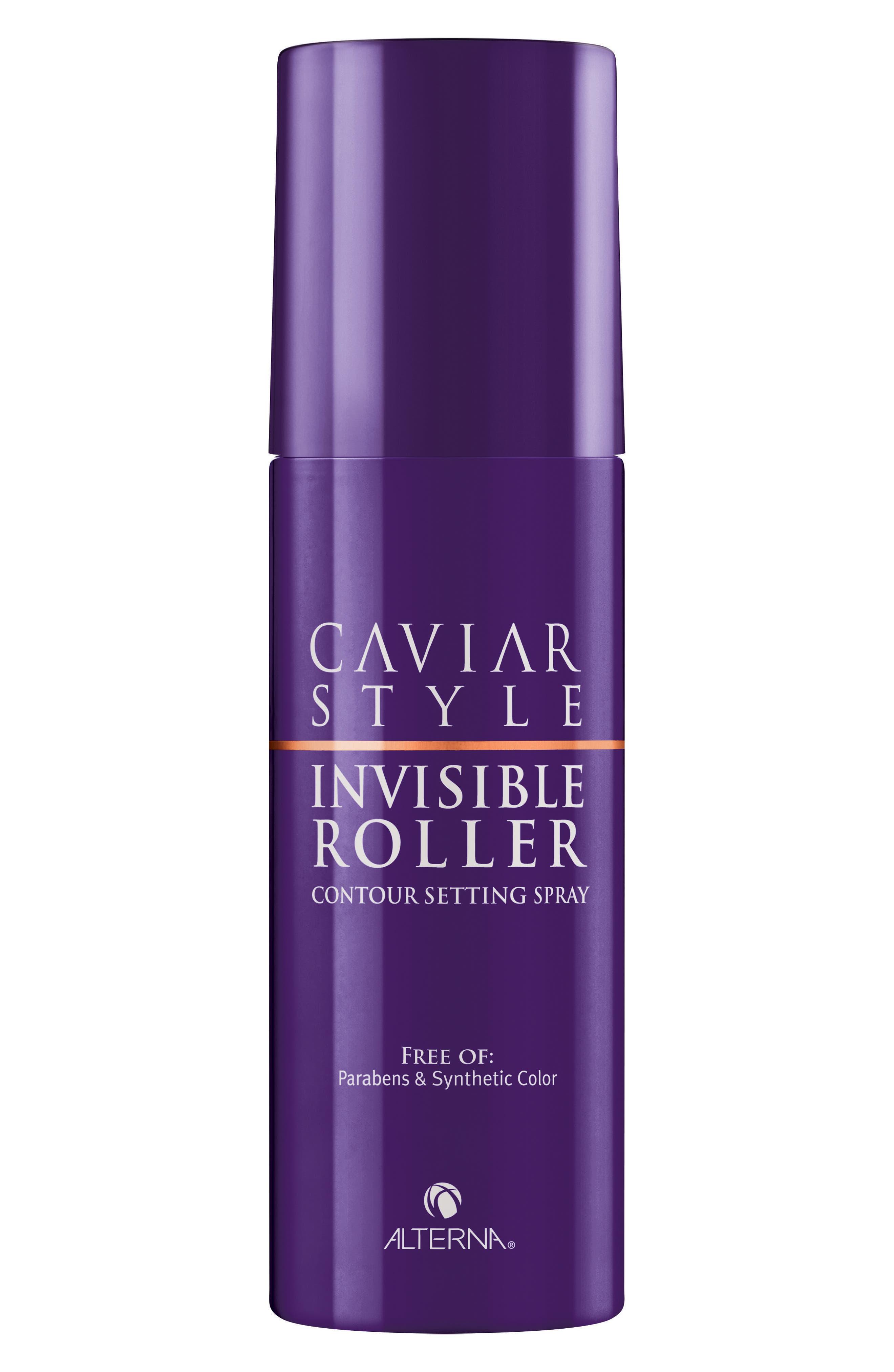 ALTERNA® Caviar Style Invisible Roller Contour Set Spray
