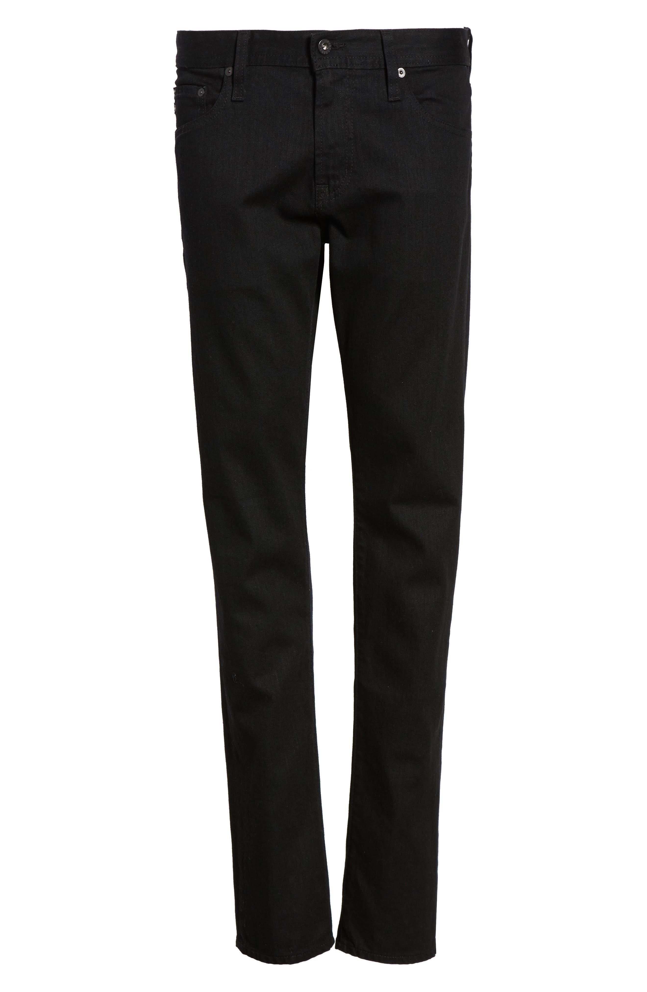 Alternate Image 6  - AG Tellis Slim Fit Jeans (Deep Pitch)