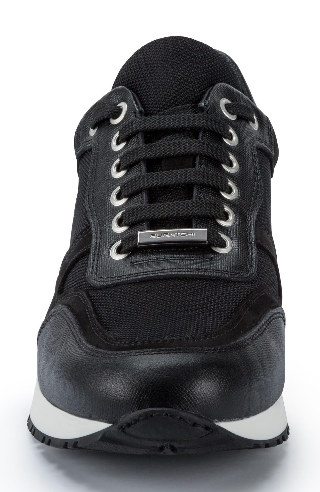 Modena Sneaker,                             Alternate thumbnail 4, color,                             Nero