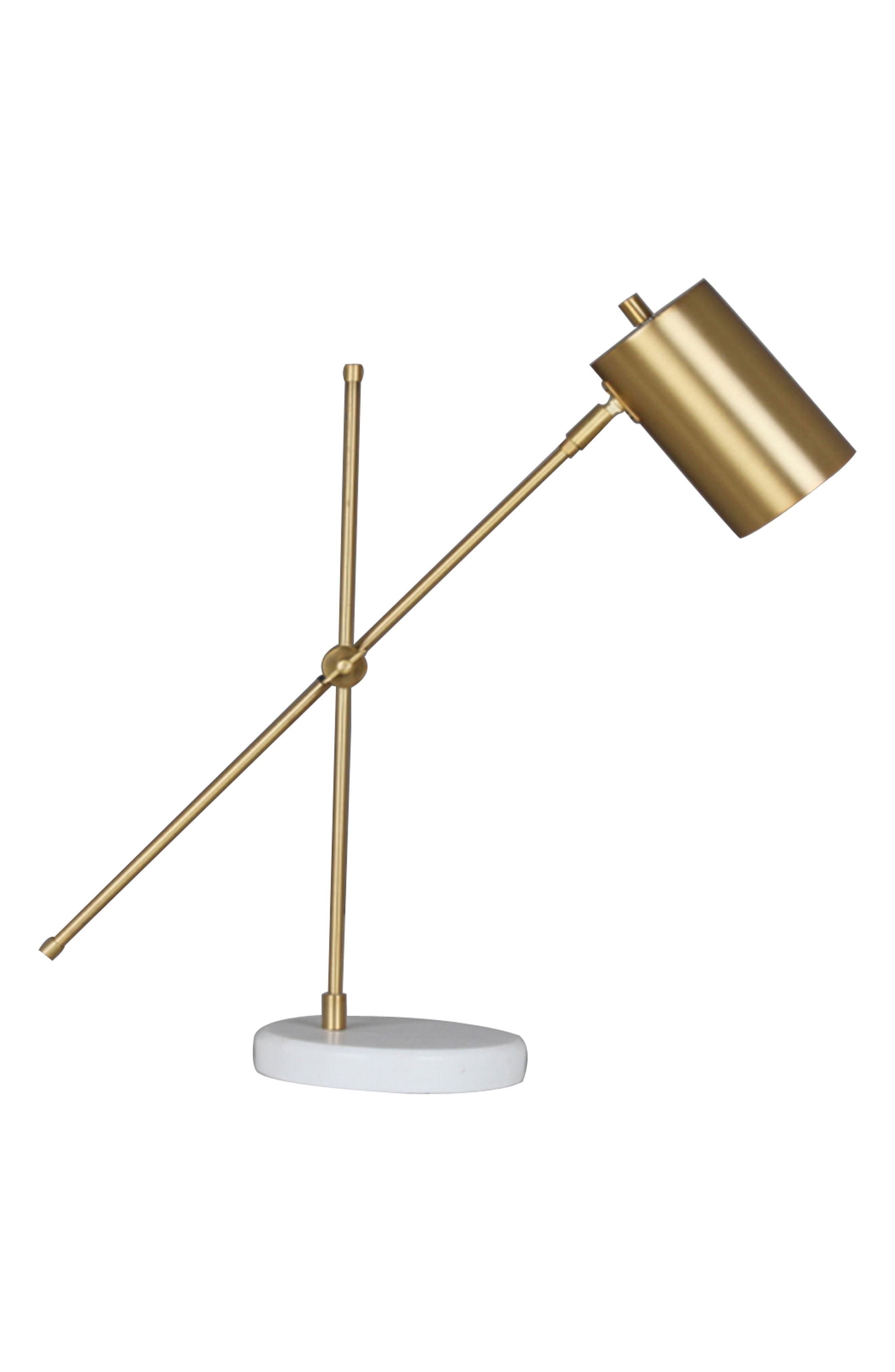 Crystal Art Gallery Metal Task Lamp