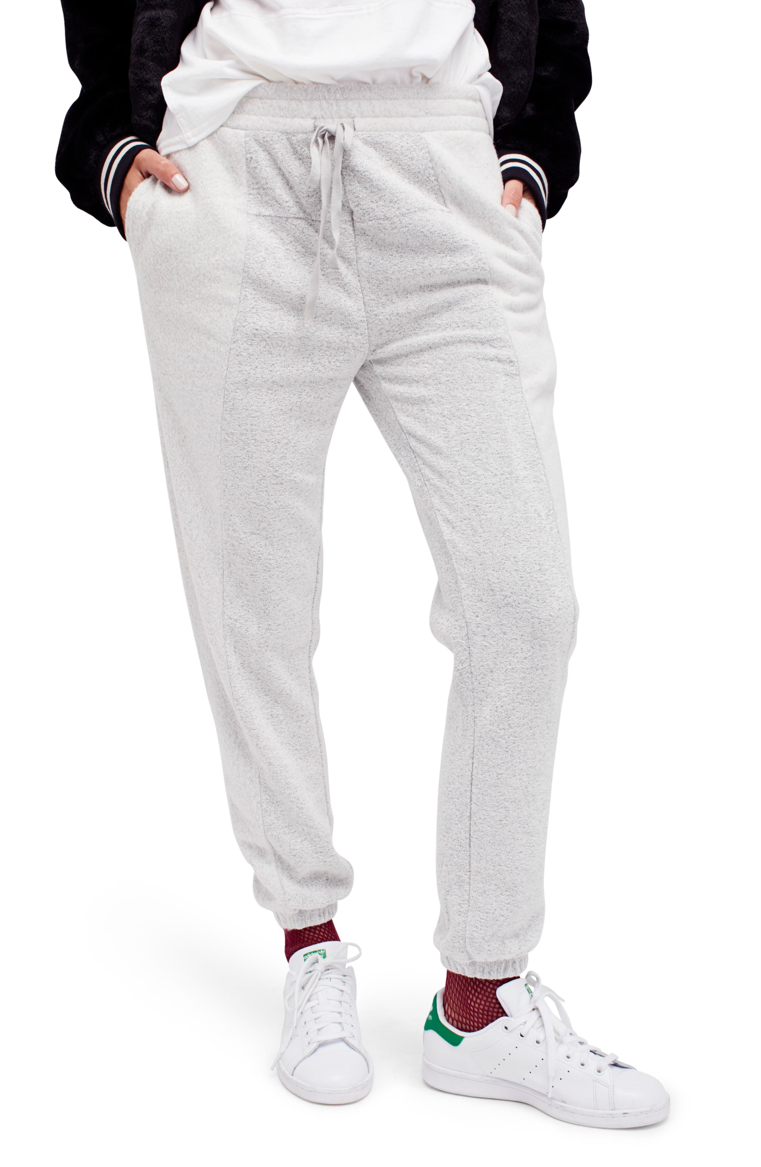 Alternate Image 1 Selected - Free People All Day All Night Jogger Pants