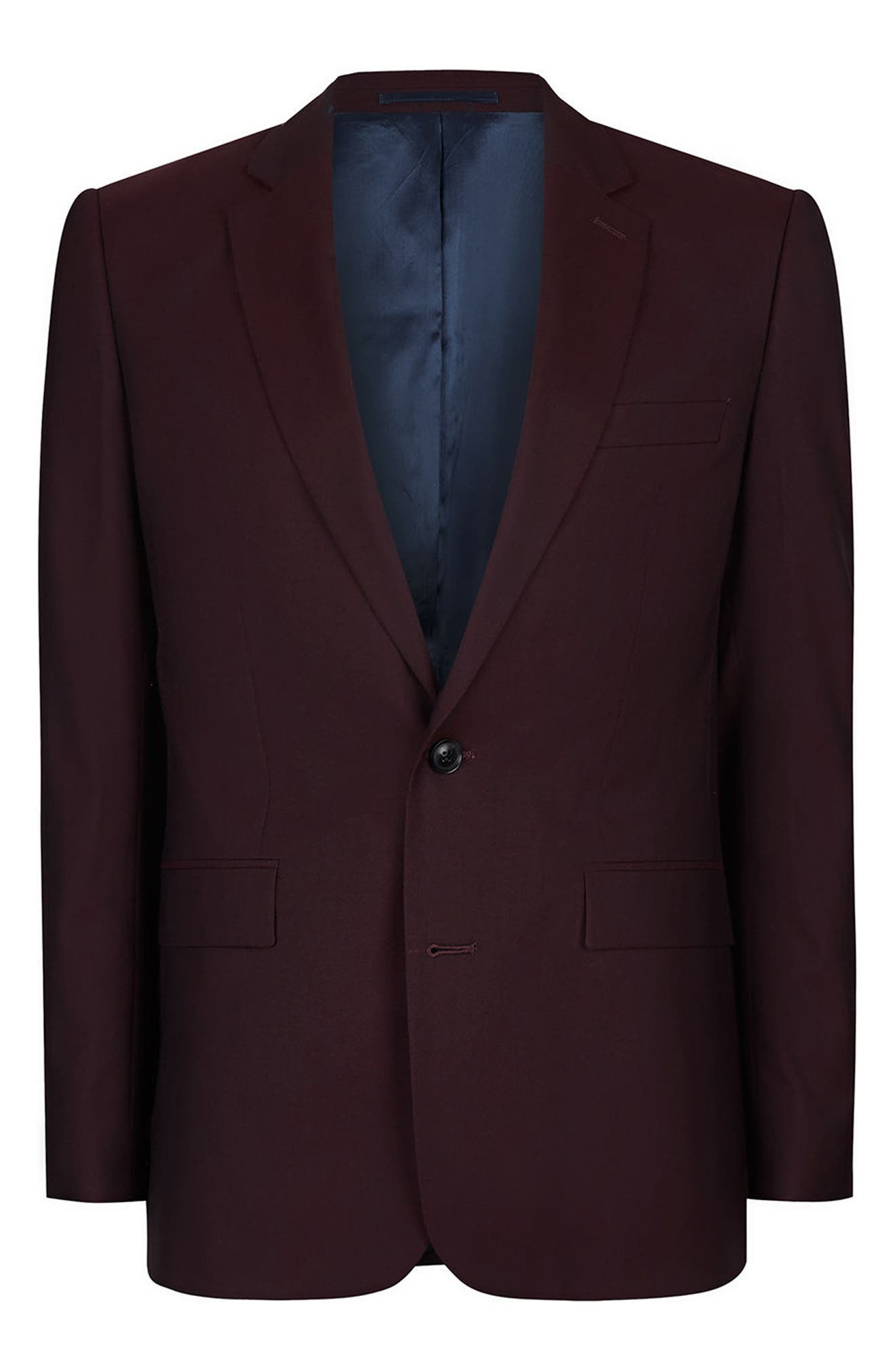 Alternate Image 6  - Charlie Casely-Hayford x Topman Skinny Fit Suit Jacket